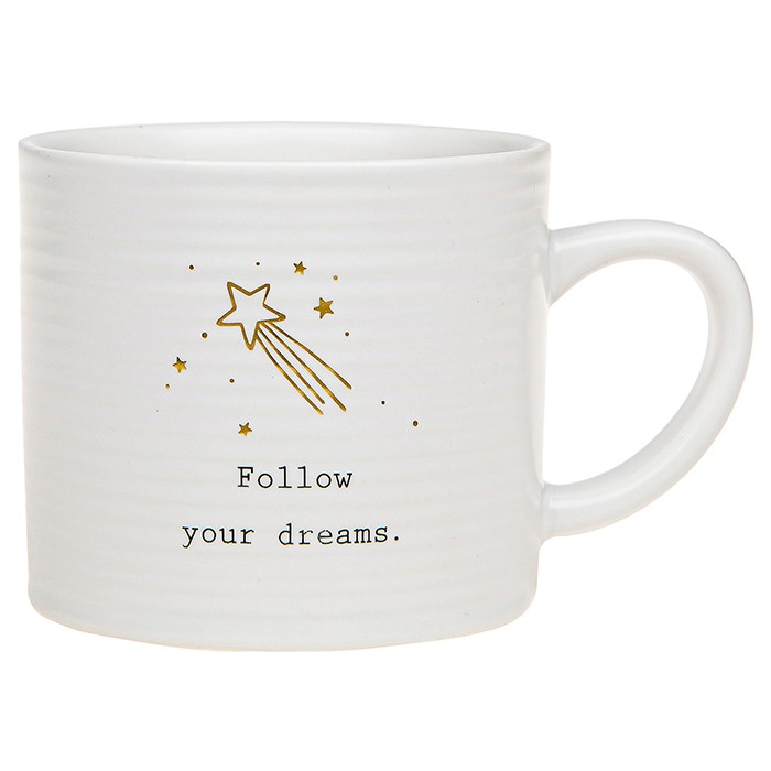 Thoughtful Words Follow Your Dreams Mug