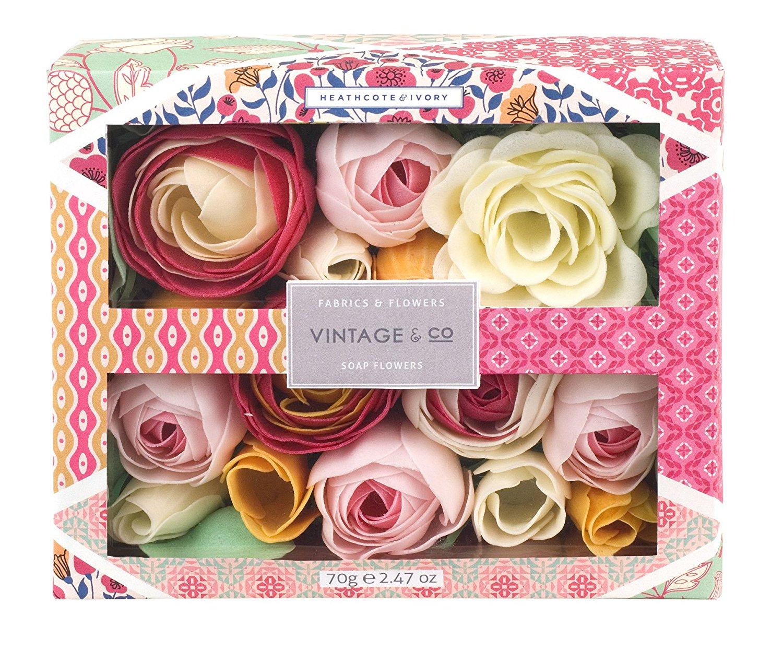 Vintage & Co Fabrics & Flowers Soap Flowers