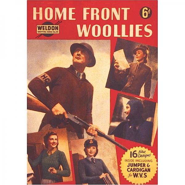 Vintage Magnet Home Front Woollies HALF PRICE
