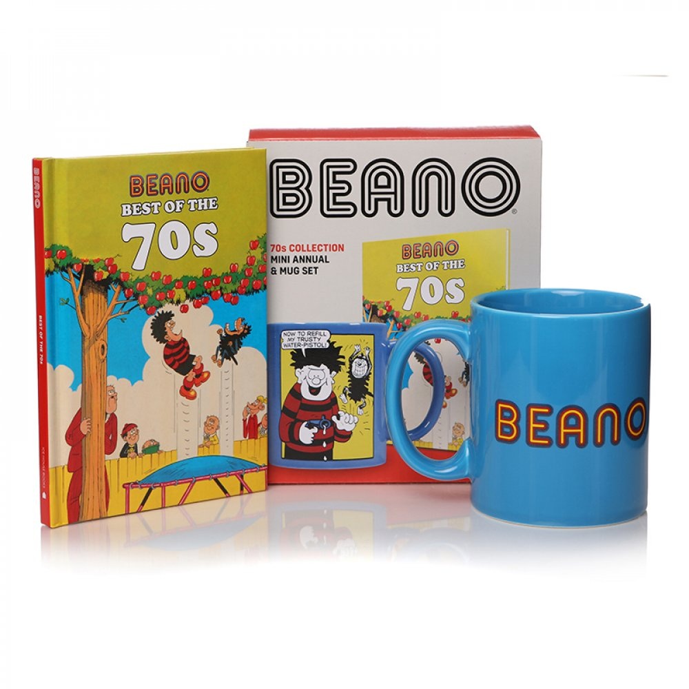 Beano 1970s Book & Mug Gift Set HALF PRICE