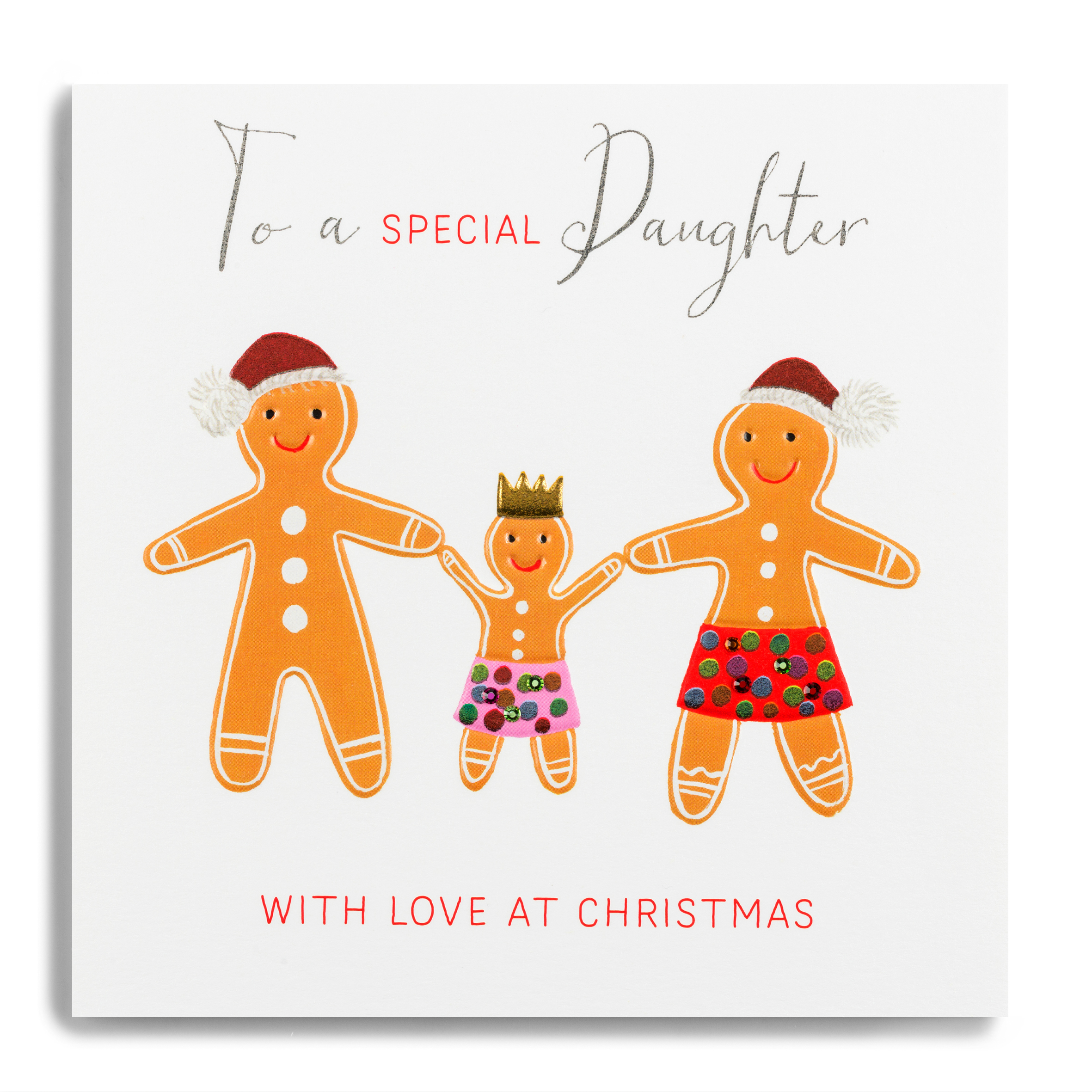 Forget Me Not Love At Christmas Special Daughter Card