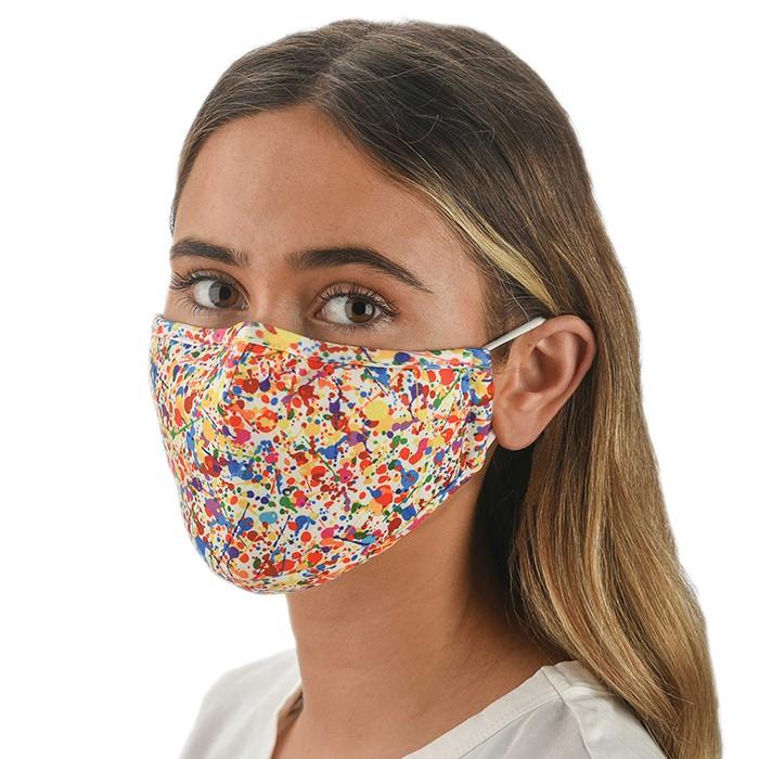 Face Mask Adult Snoozies Splatter