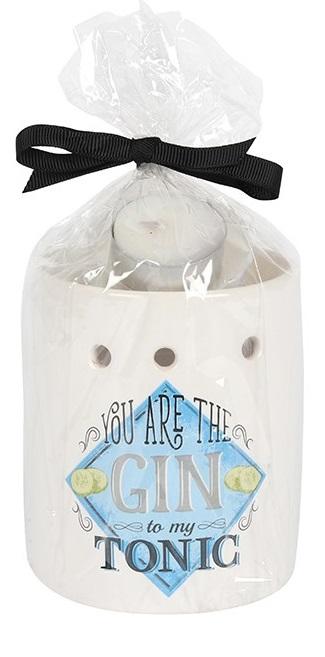 Gin Wax Warmer Gift Set
