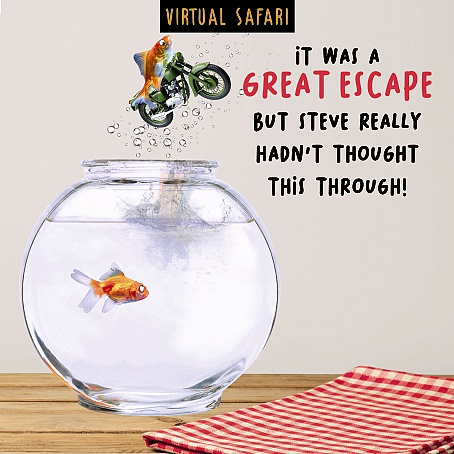 Virtual Safari Great Escape Card