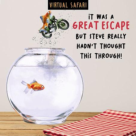 Virtual Safari Great Escape Card