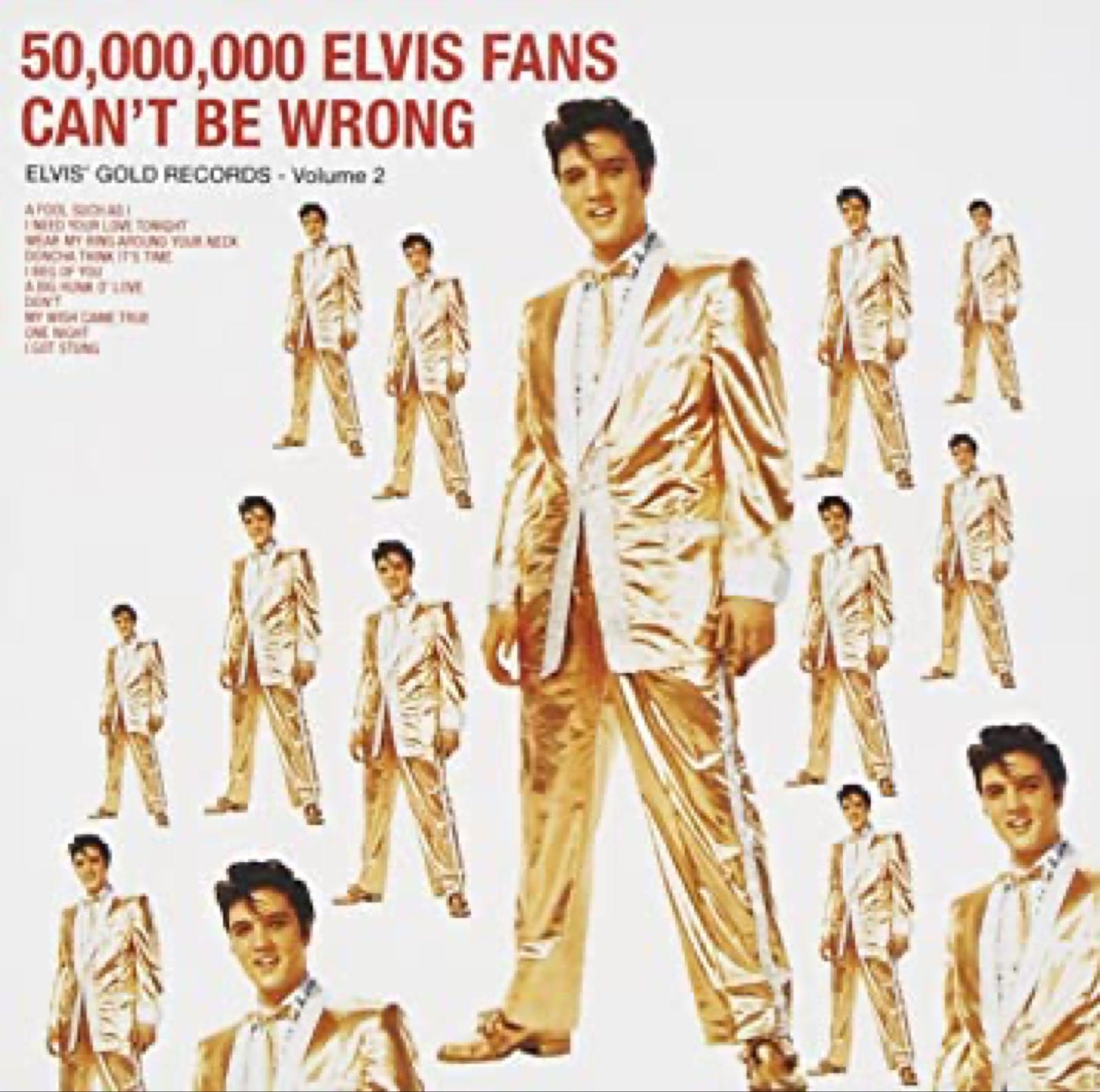 Elvis Presley - 50.000.000 Elvis Fans Can't Be Wrong [LP]