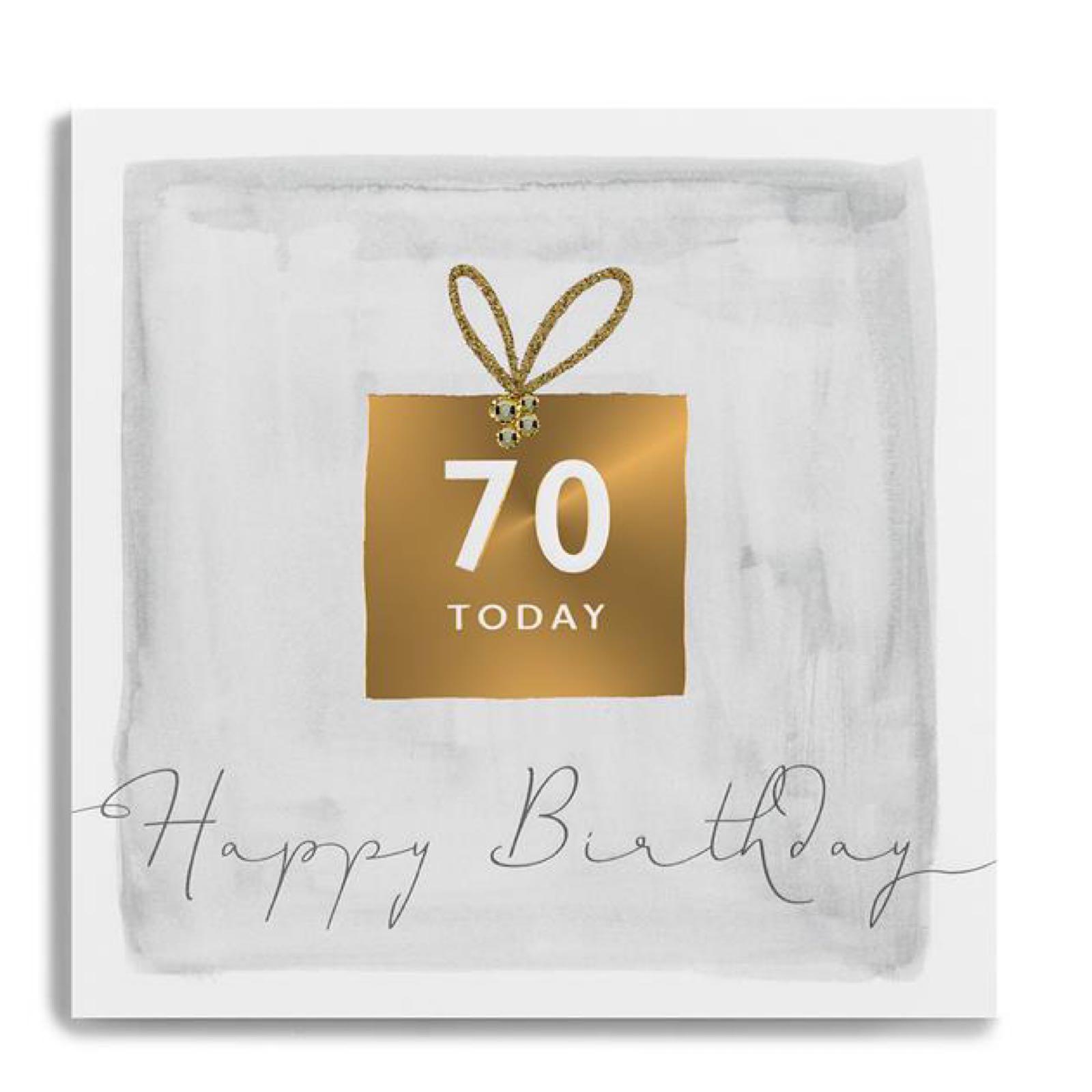 Janie wilson 70 card