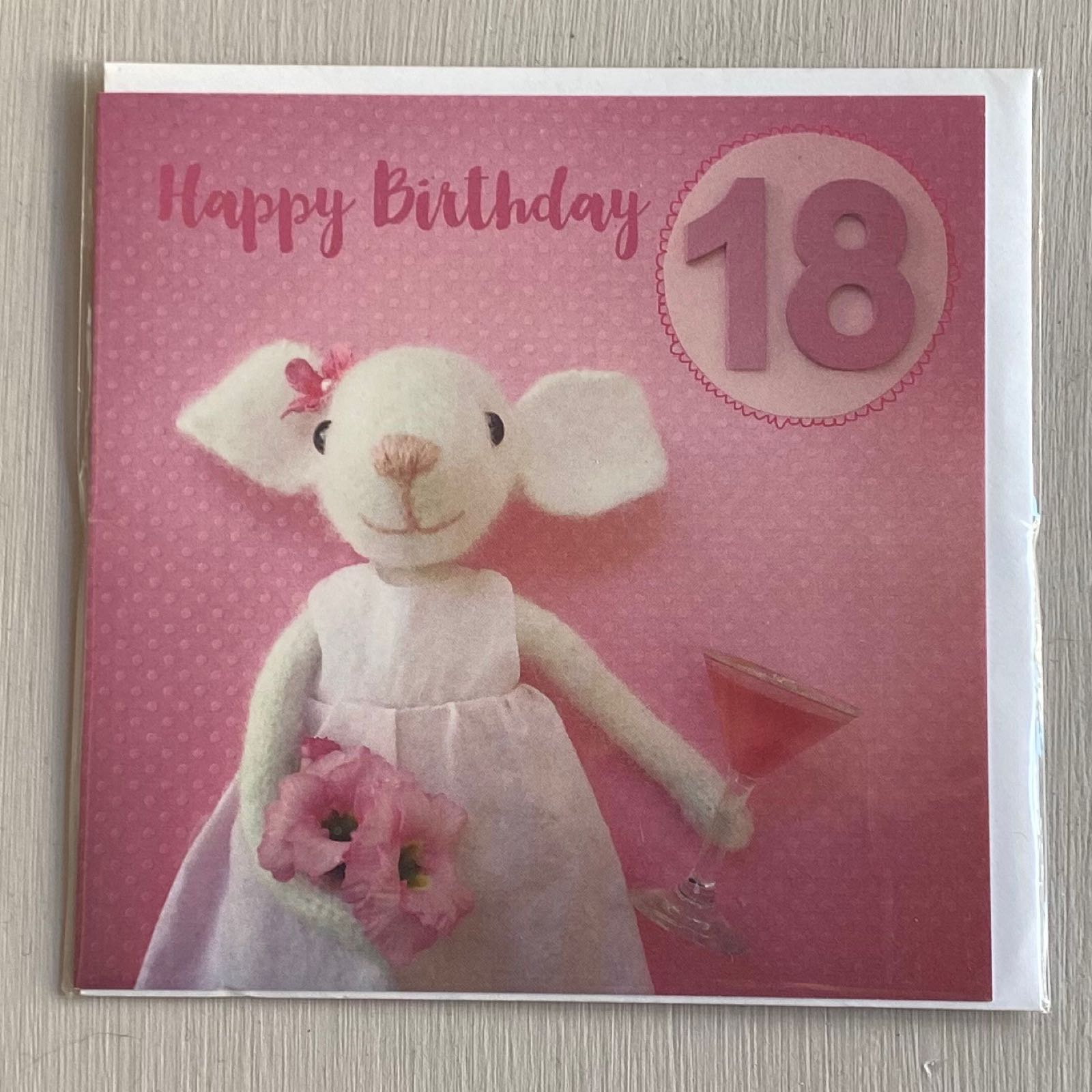 '18th Birthday' Pippi & Me Card