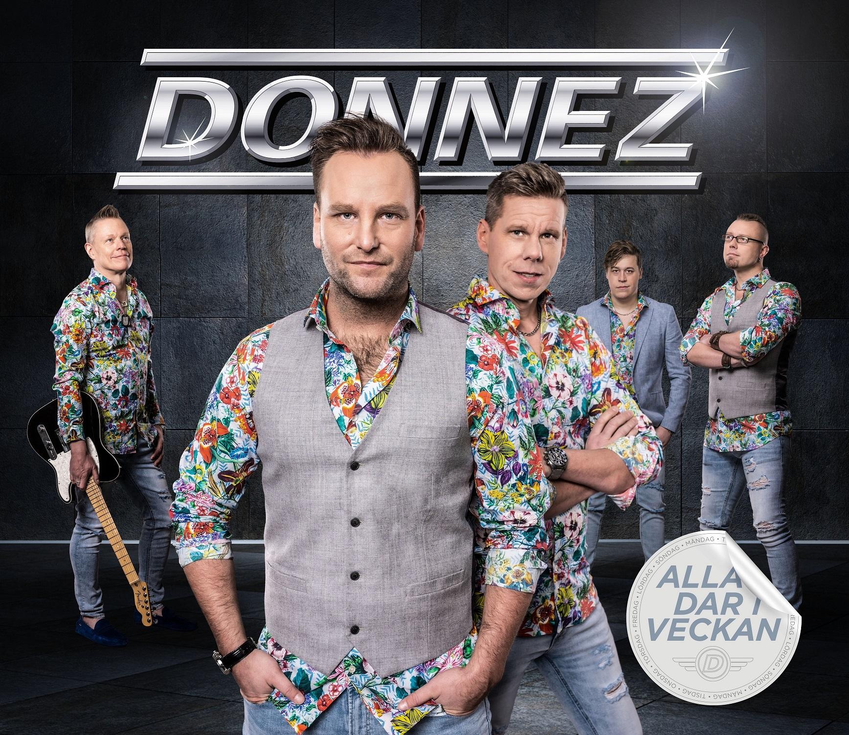Förhandsboka Donnez CD Alla dar i veckan