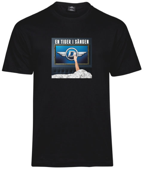 Donnez T-shirt - En tiger i sängen