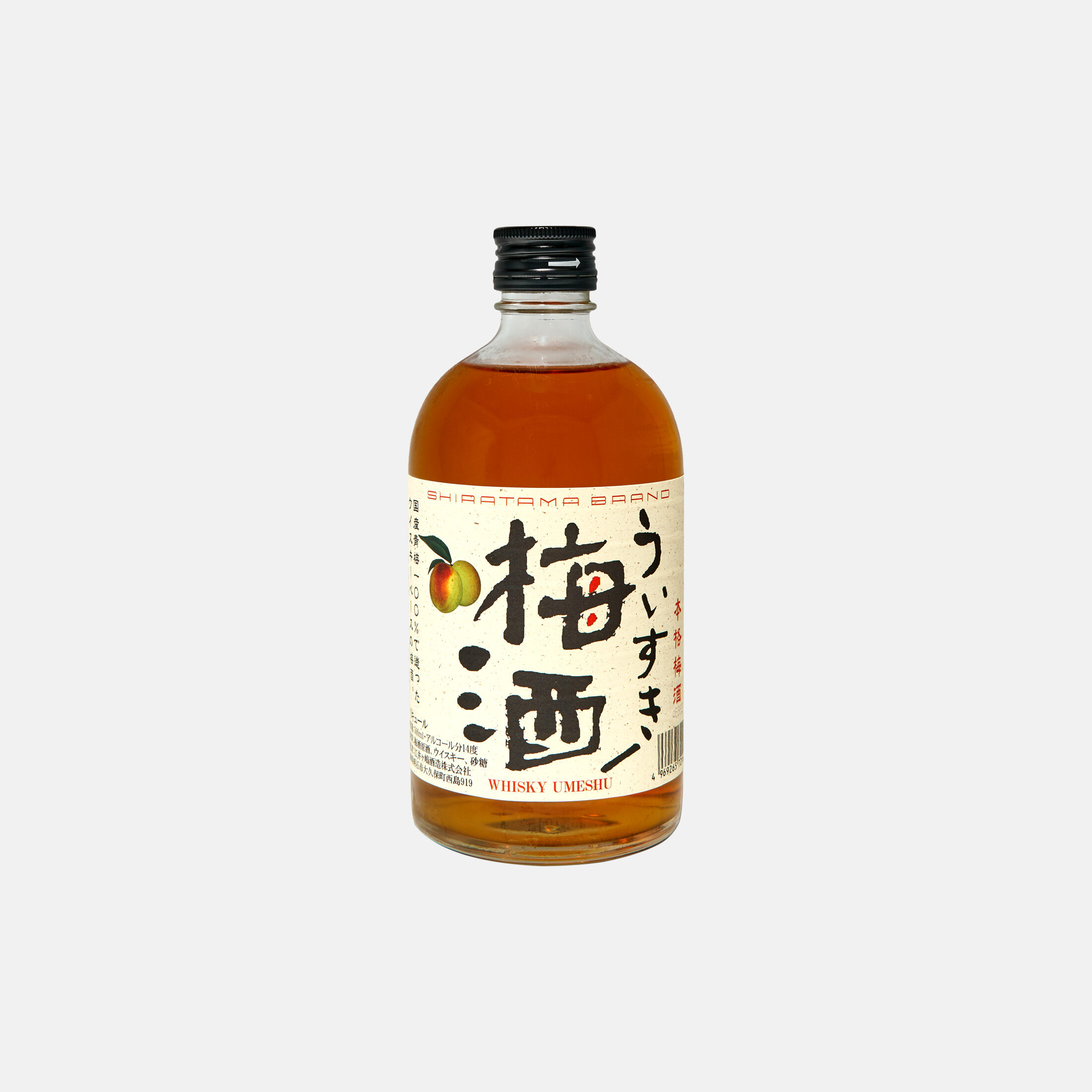 Umeshu Blended With Akashi Whisky [500ml]