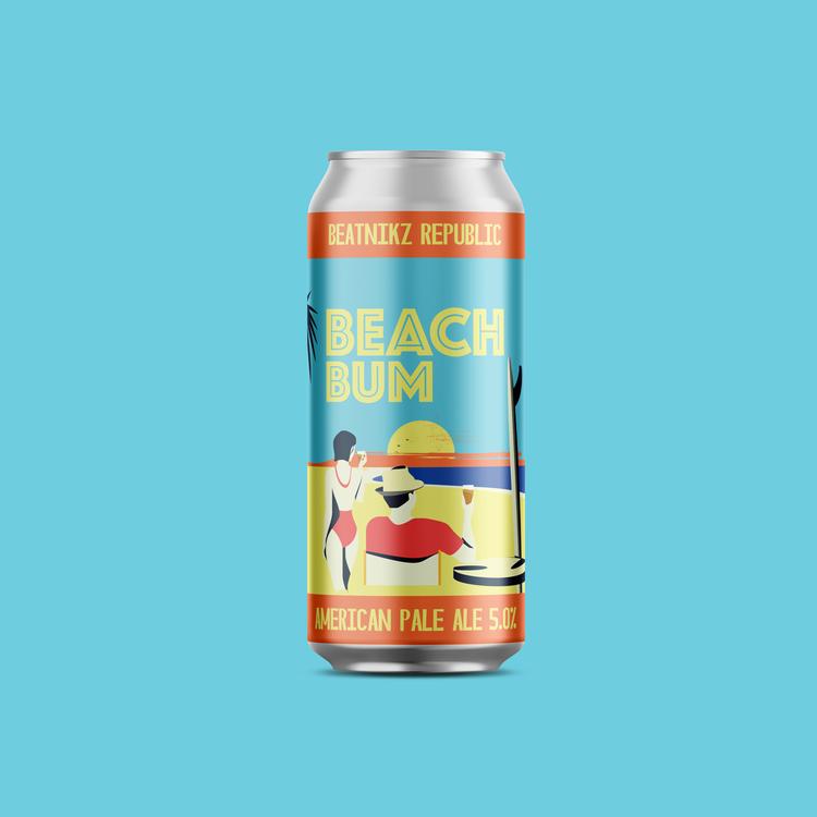 Beach Bum American Pale Ale [440ml]