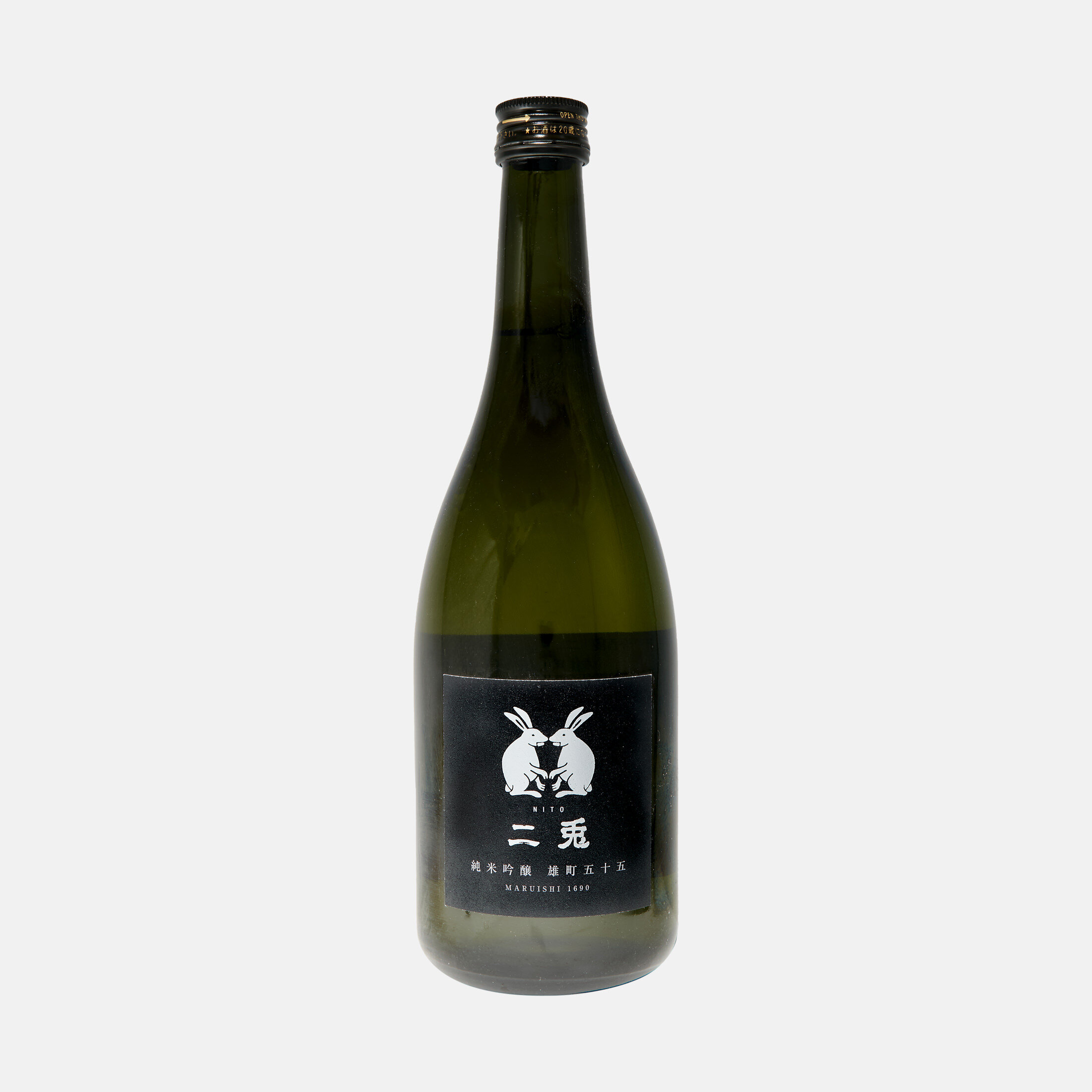 Nito Omachi 55 Junmai Ginjo - White Rabbits Label [720ml]