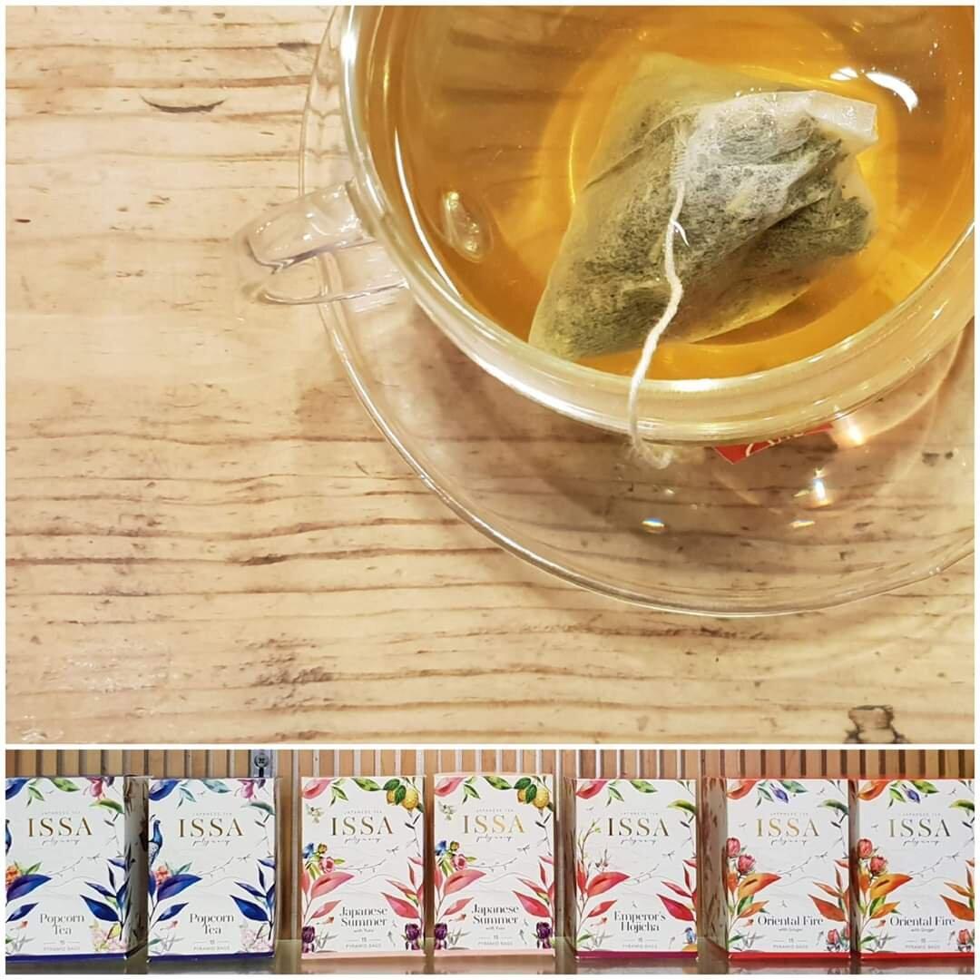 Issa Tea - Popcorn Green Tea [45g]