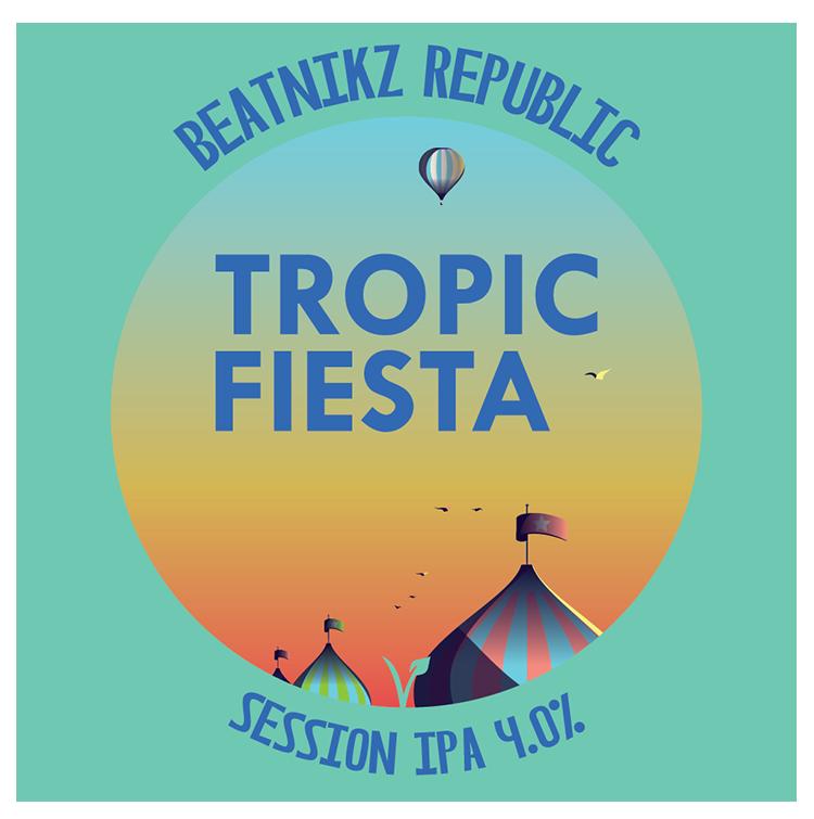 Tropic Fiesta DDH Session IPA [440ml]