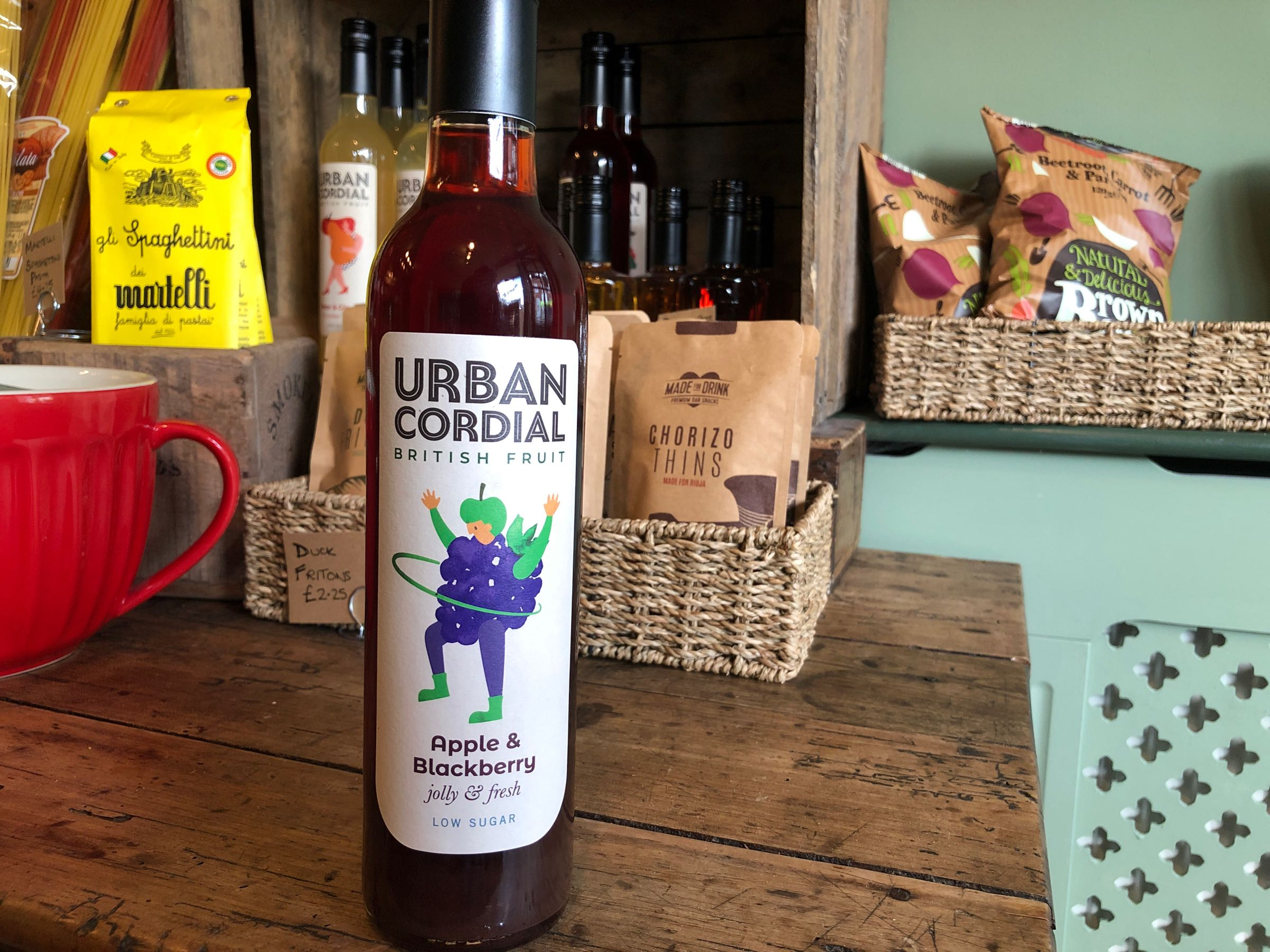 The Urban Cordial Company Apple and Blackberry 500ml