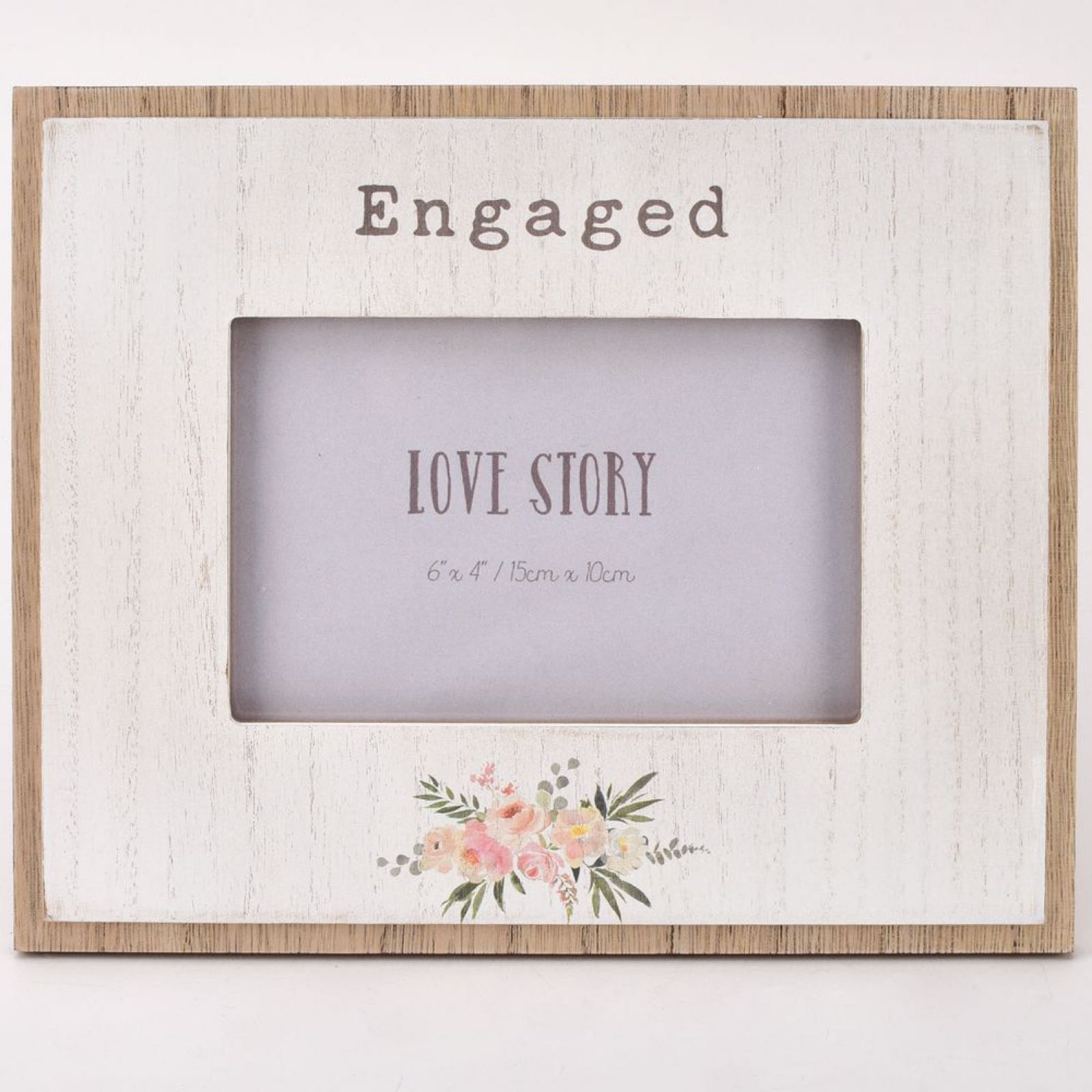 "Engaged 6""x4"" Photo Frame"