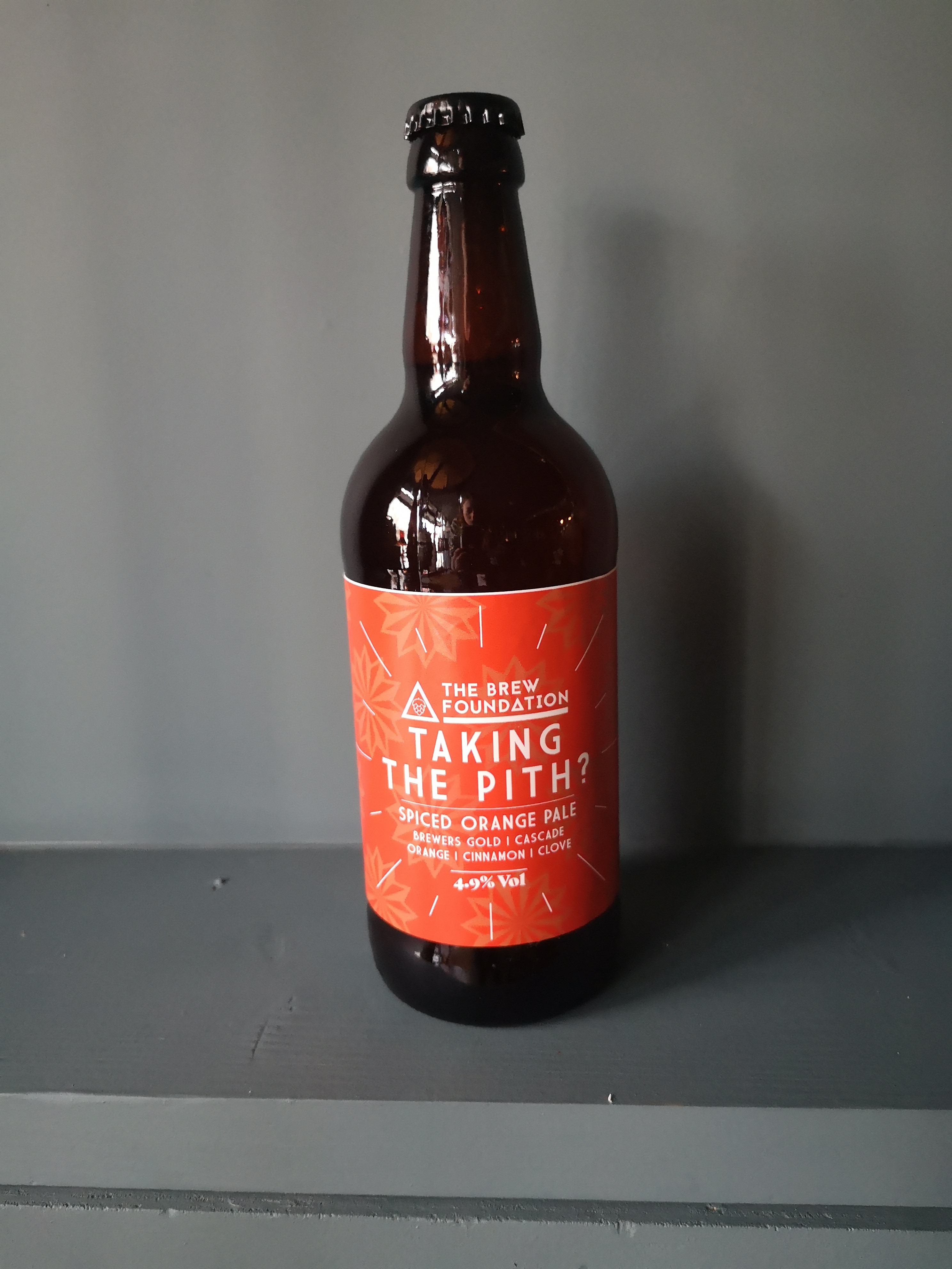 *Brew Foundation - Taking the pith case of 12