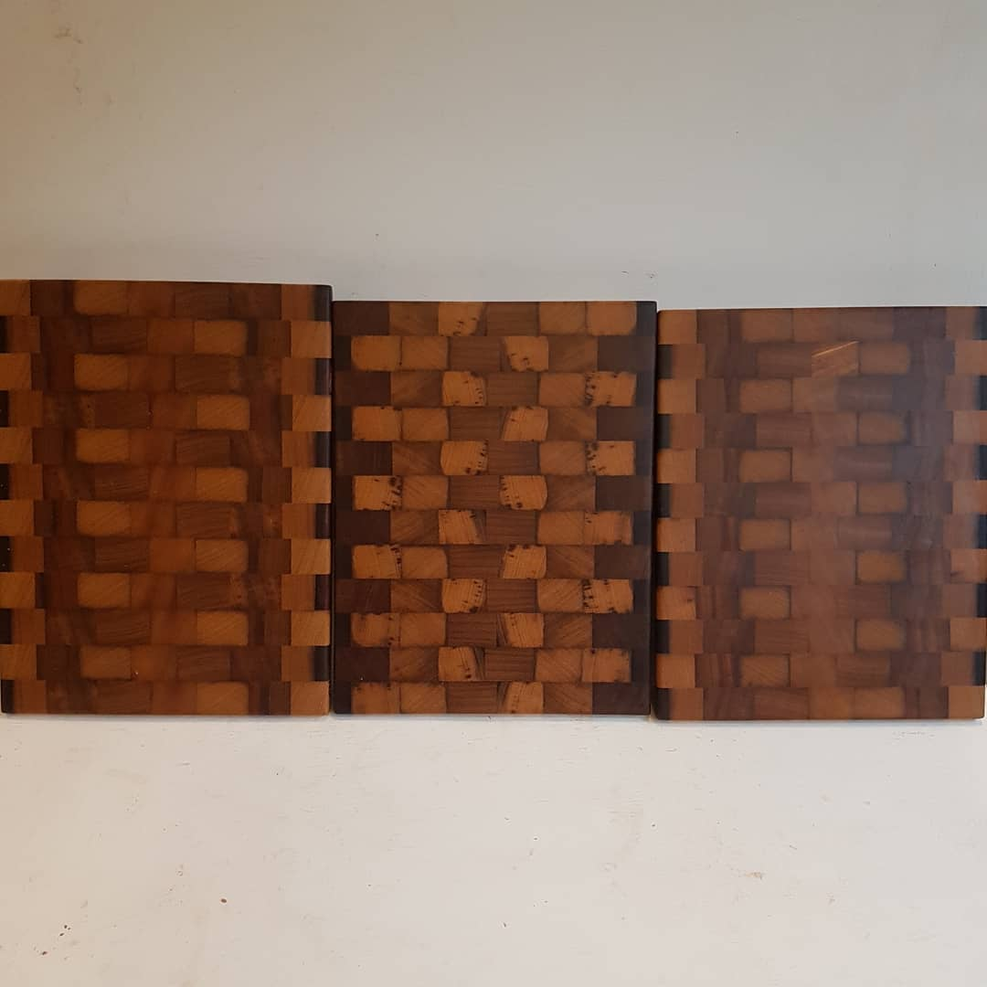 Iroko end grain