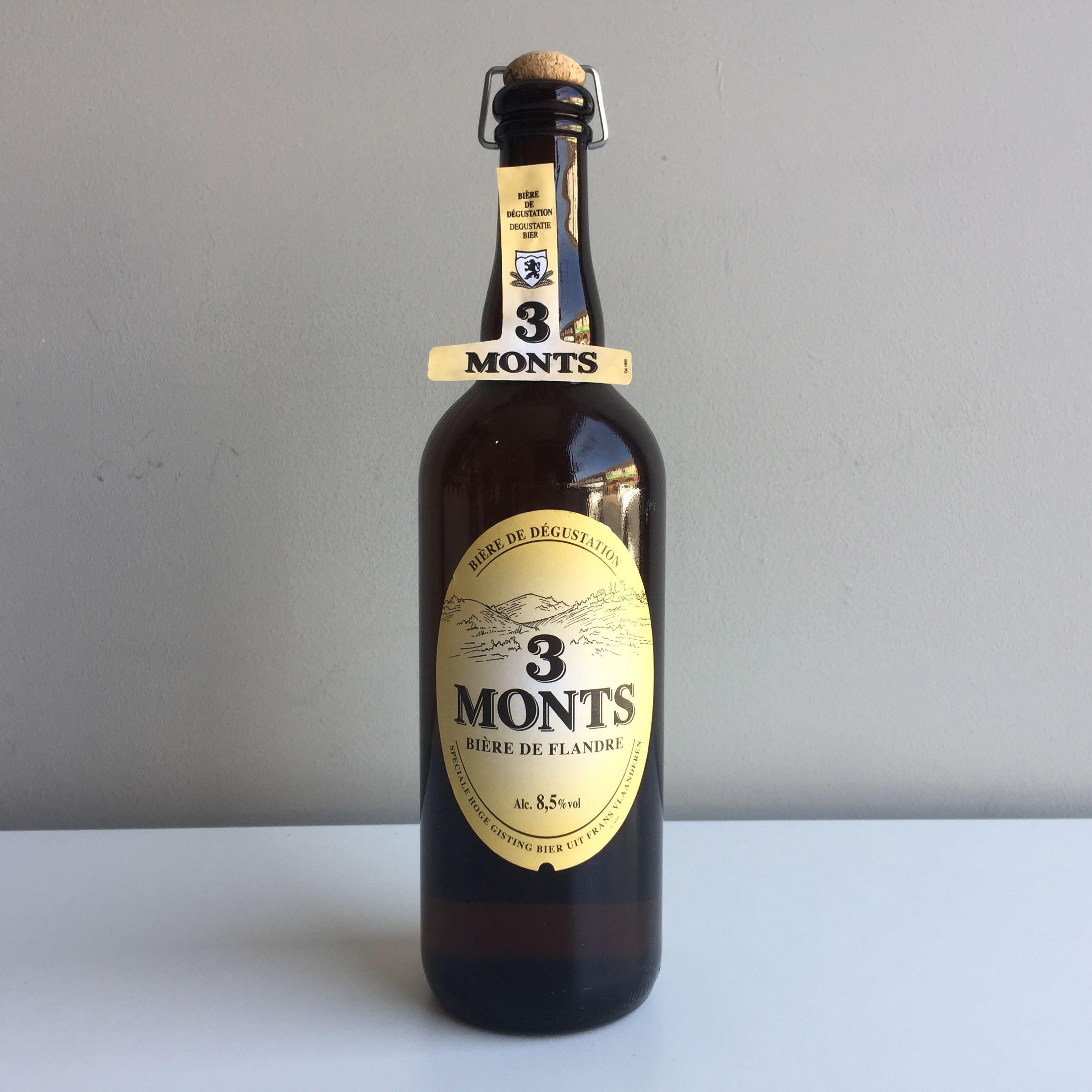 Trois Monts Bière de Flandre 750ml 8.5% ABV