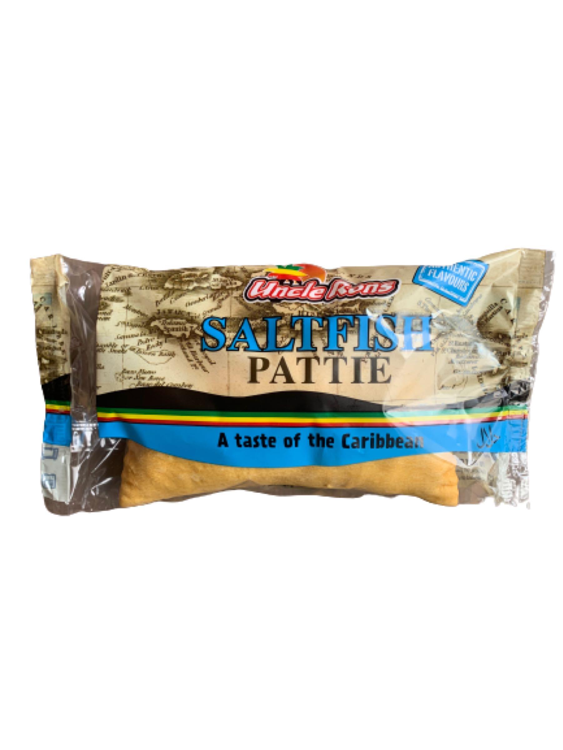 Uncle Ron's Saltfish Pattie