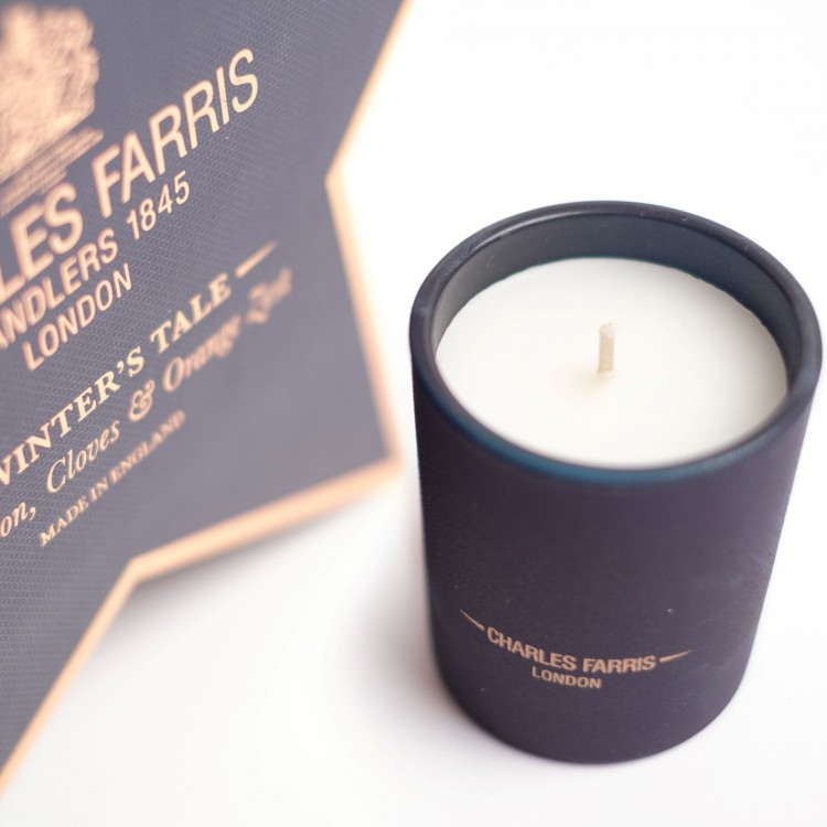 Charles Farris a winters tales signature candle 210g 50 hours burn time