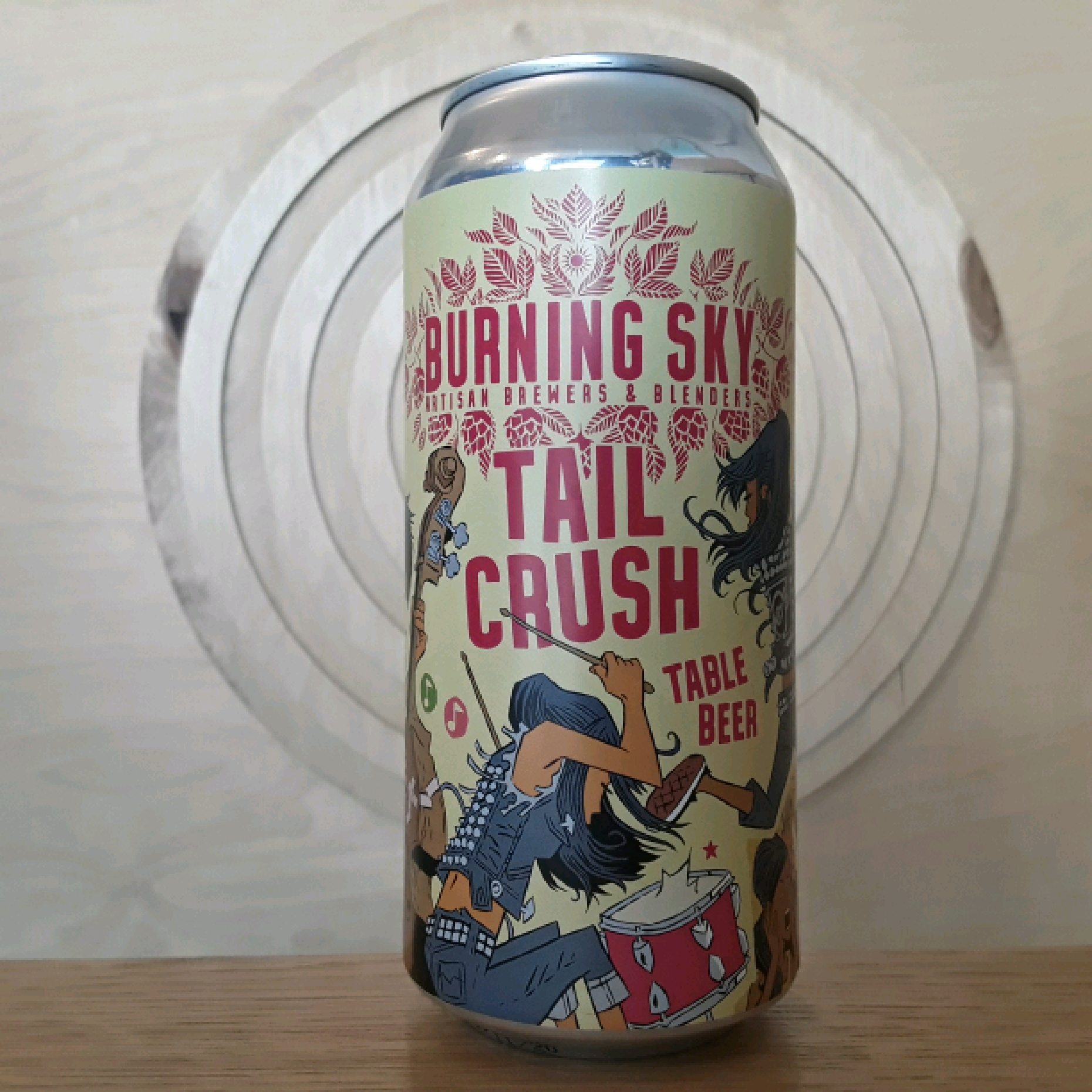 Burning Sky | Tail Crush | Table Beer
