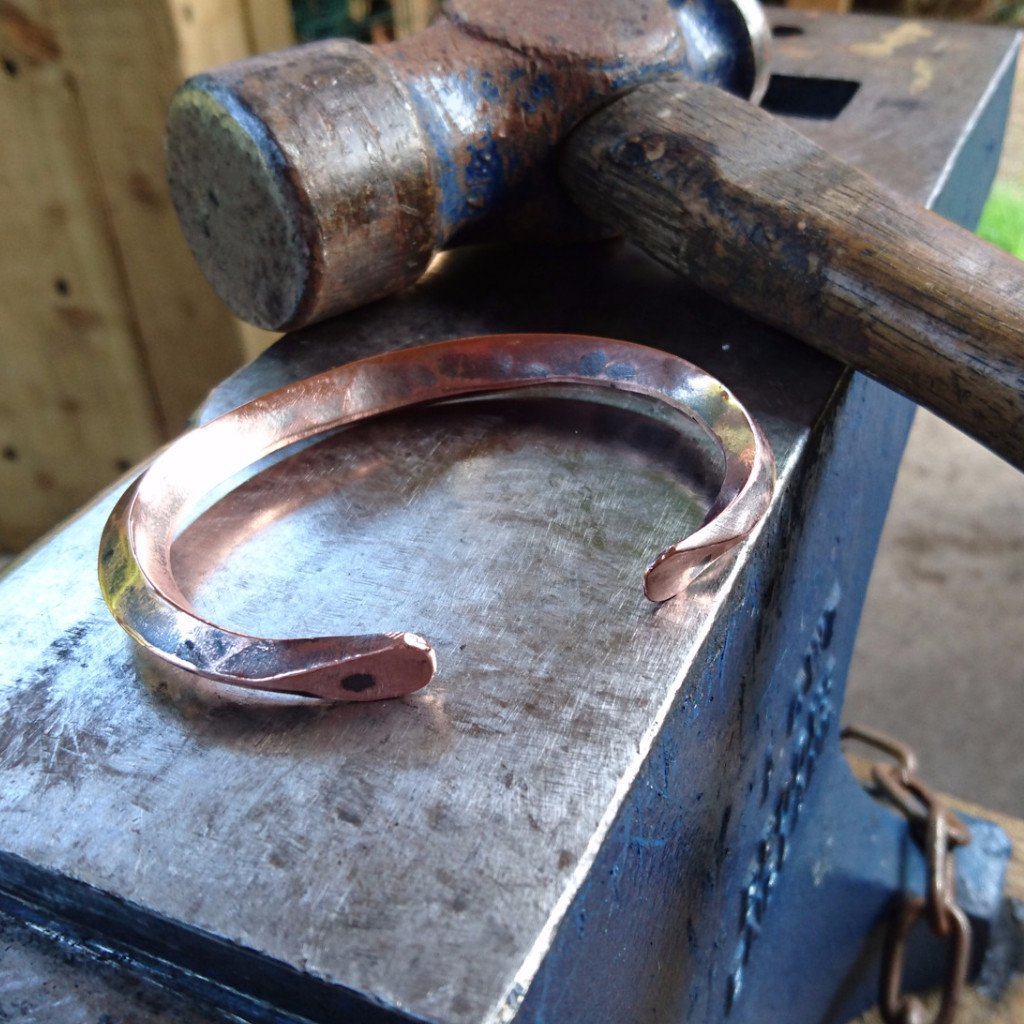Arm band copper