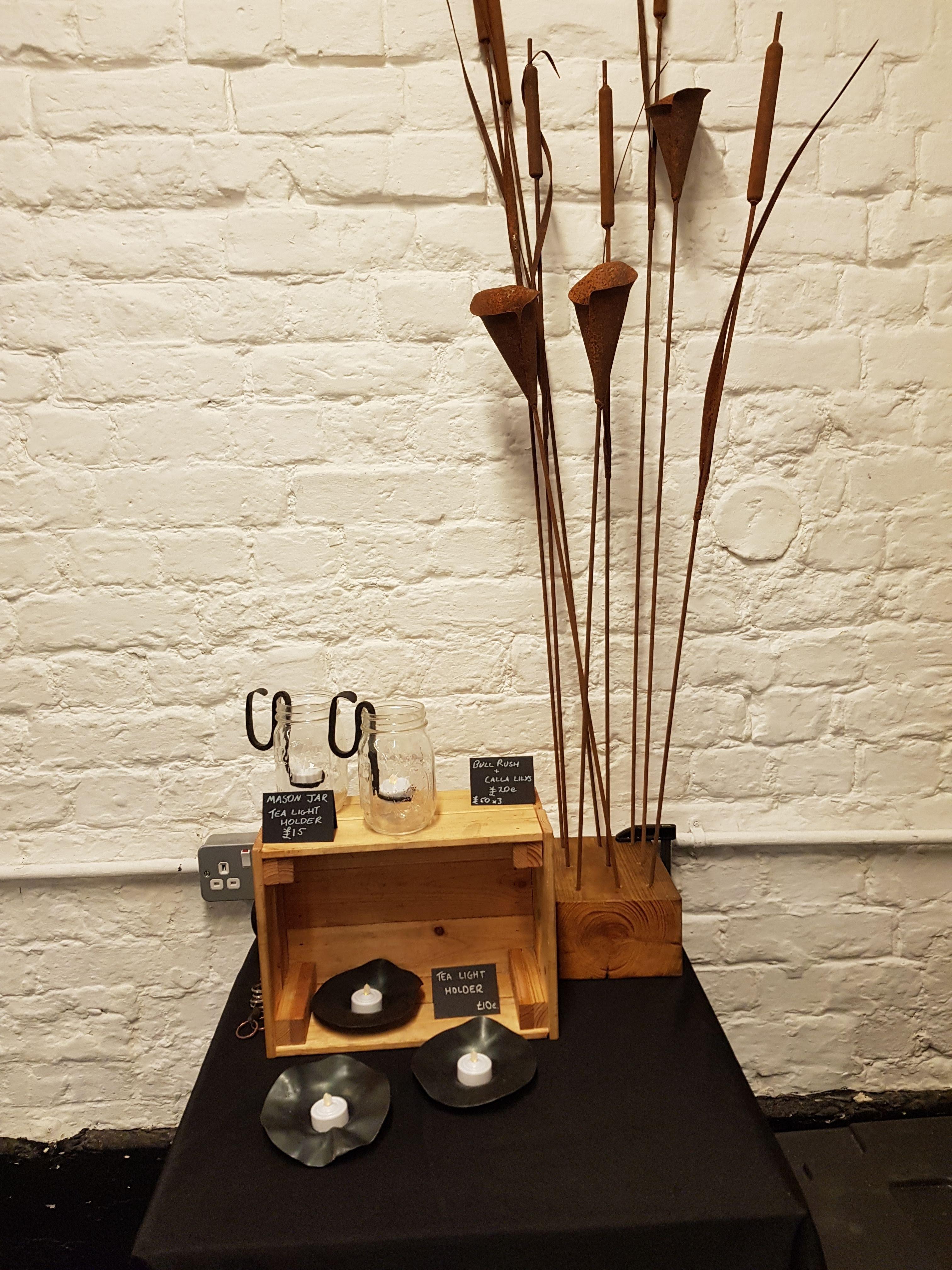 Calla Lily garden sculptures