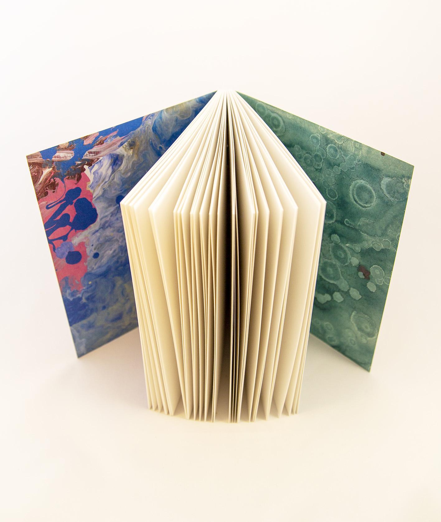 Ecofriendly notebook/sketchbook Bläck