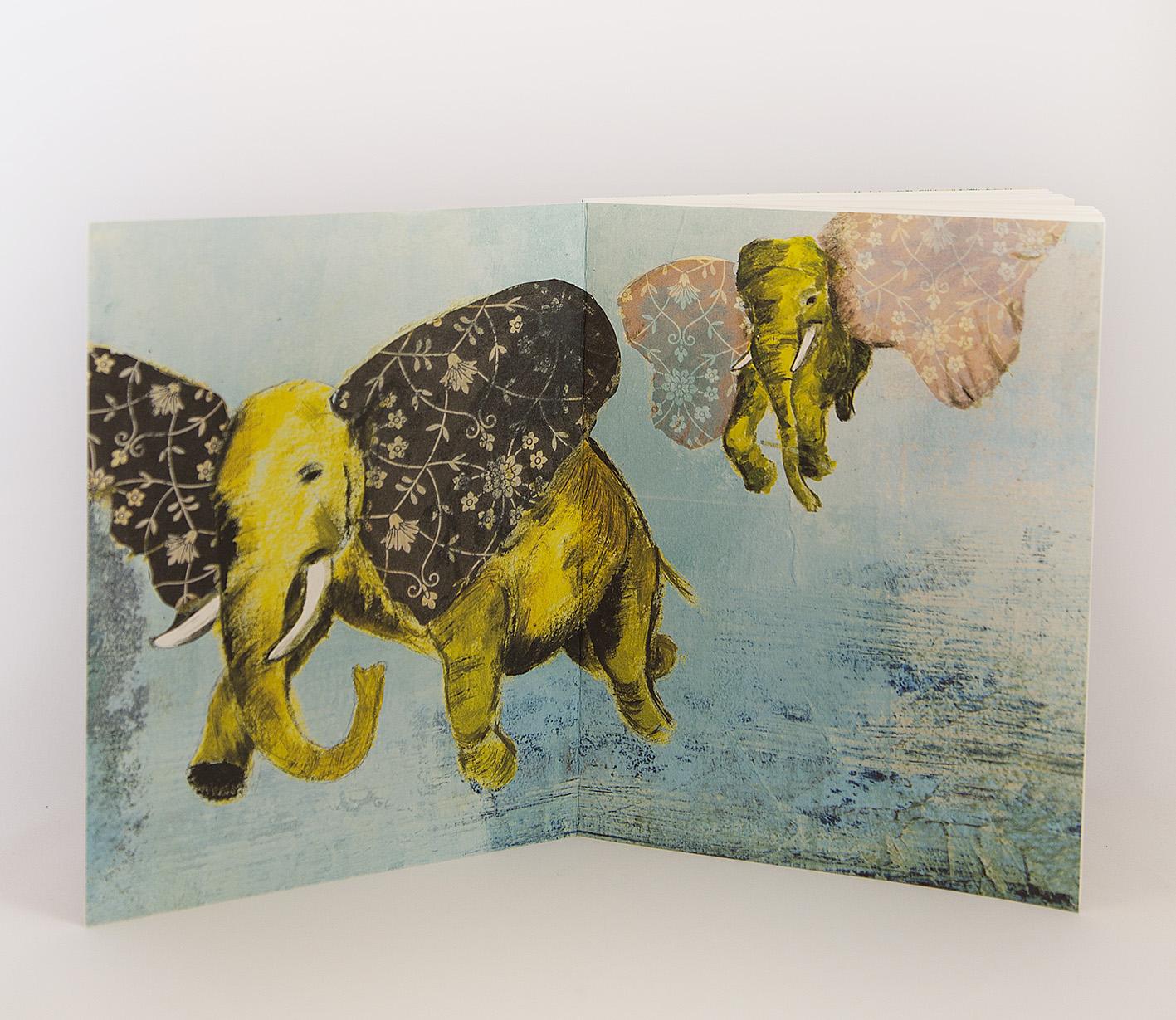 Ecofriendly notebook/sketchbook Mönster