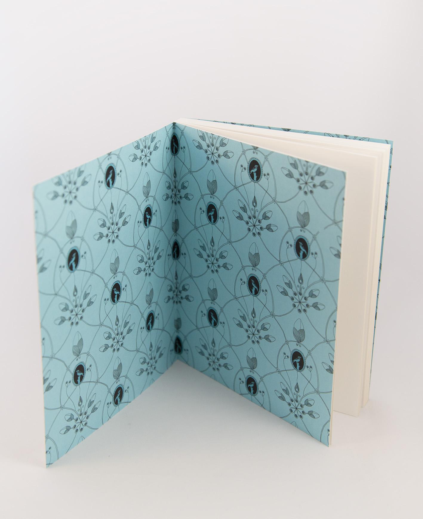 Ecofriendly notebook/sketchbook Stänk