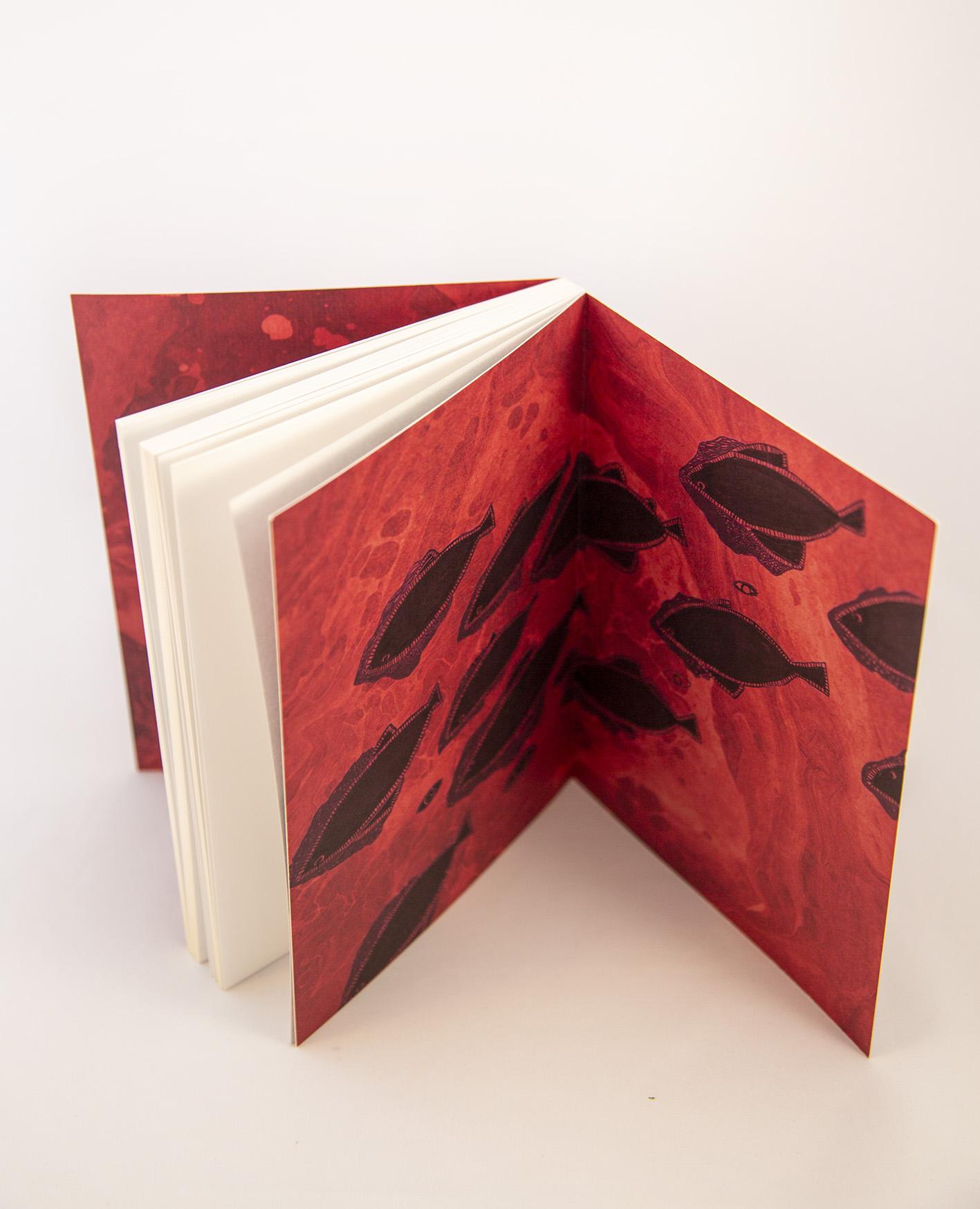 Ecofriendly notebook/sketchbook Dots