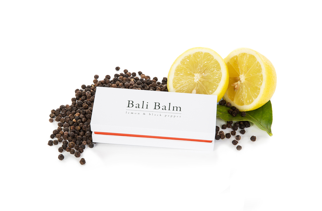 BALI BALM Lemon & Black Pepper