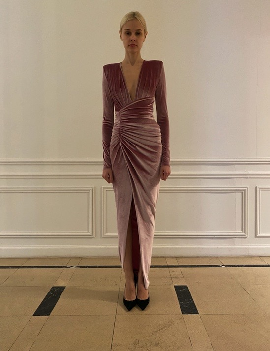 Alexandre Vauthier Long Dress