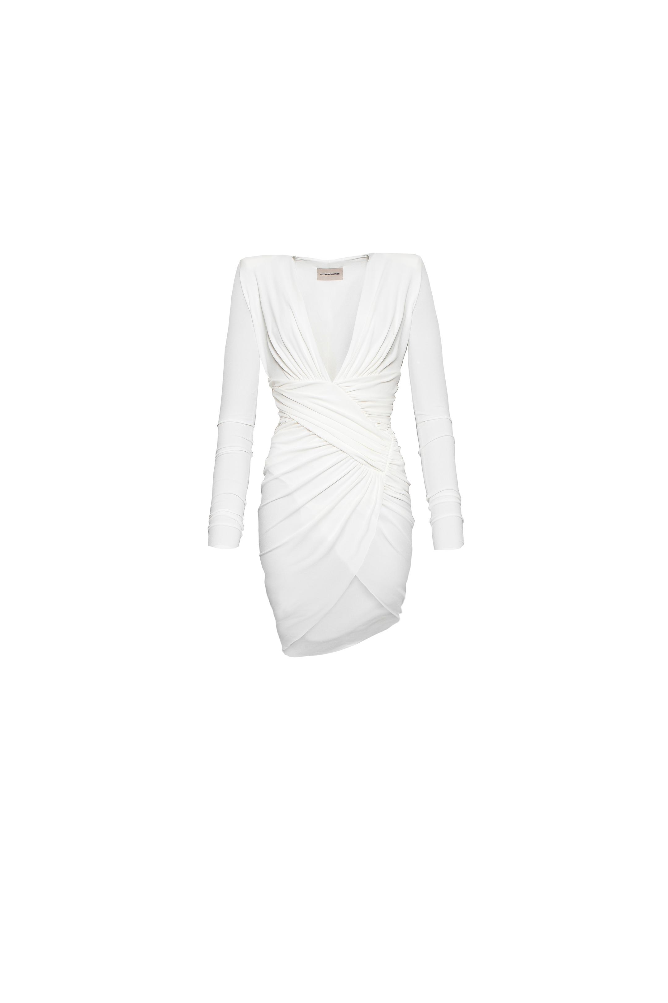 Alexandre Vauthier Dress Off white