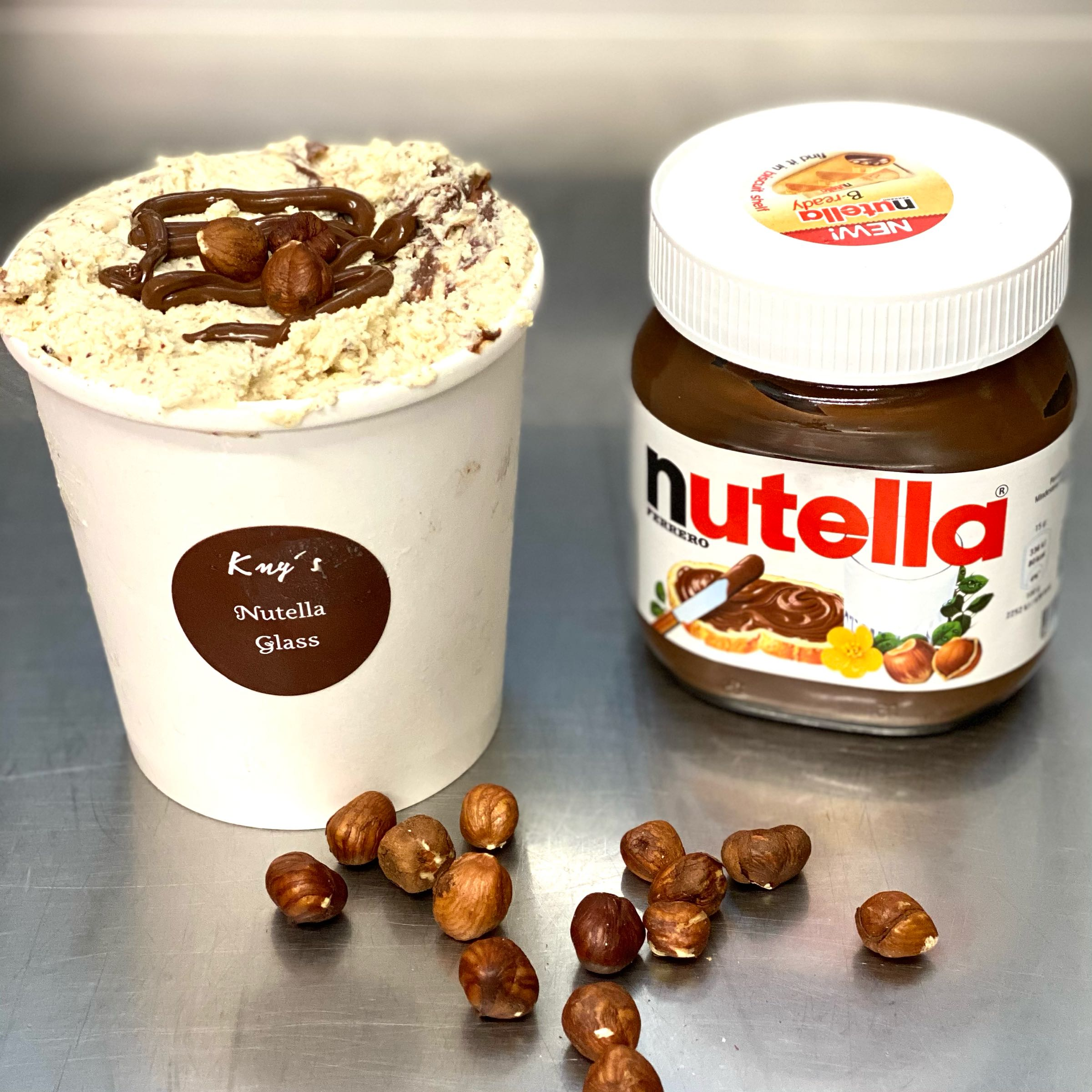 Nutella Glass
