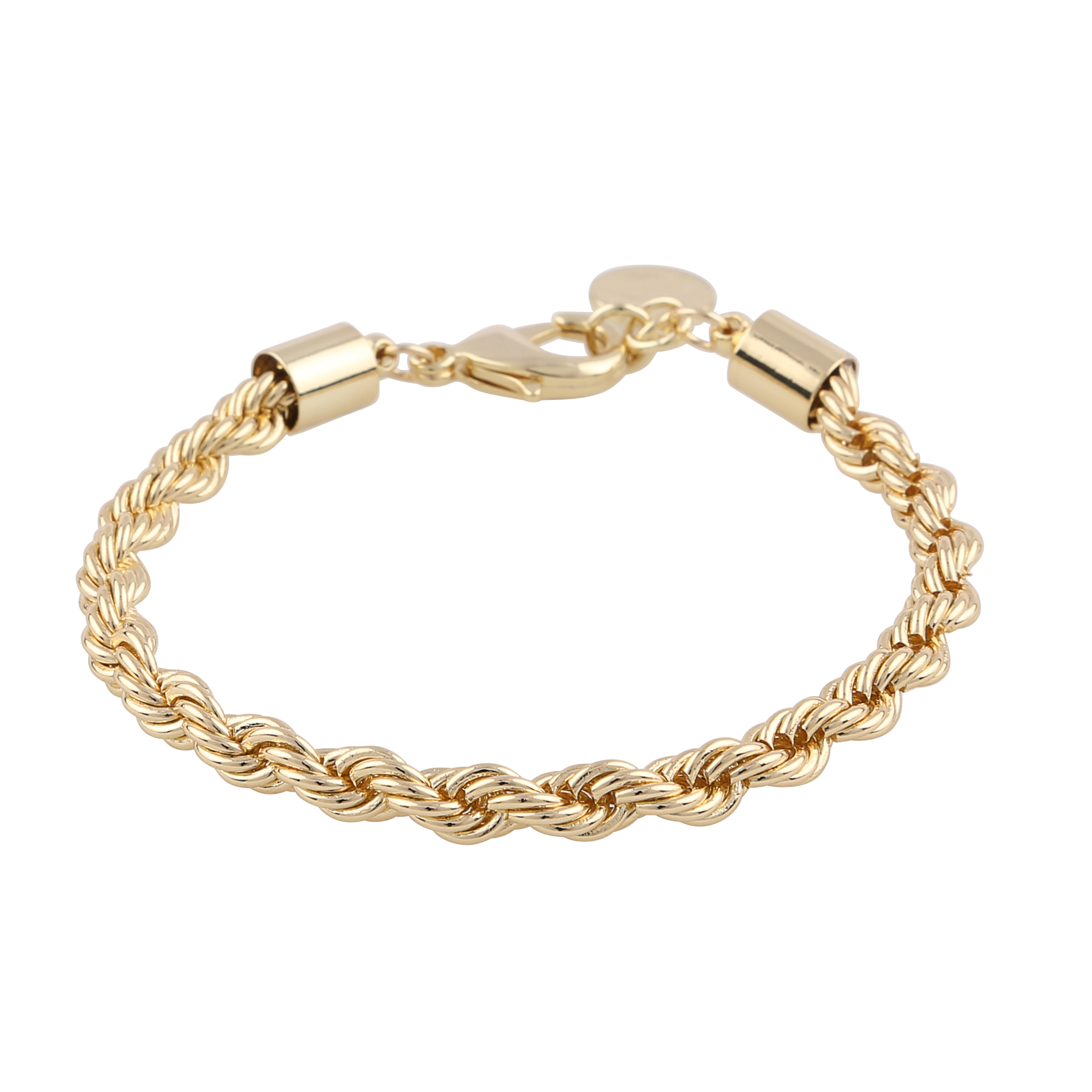 Turn Single Bracelet Gold