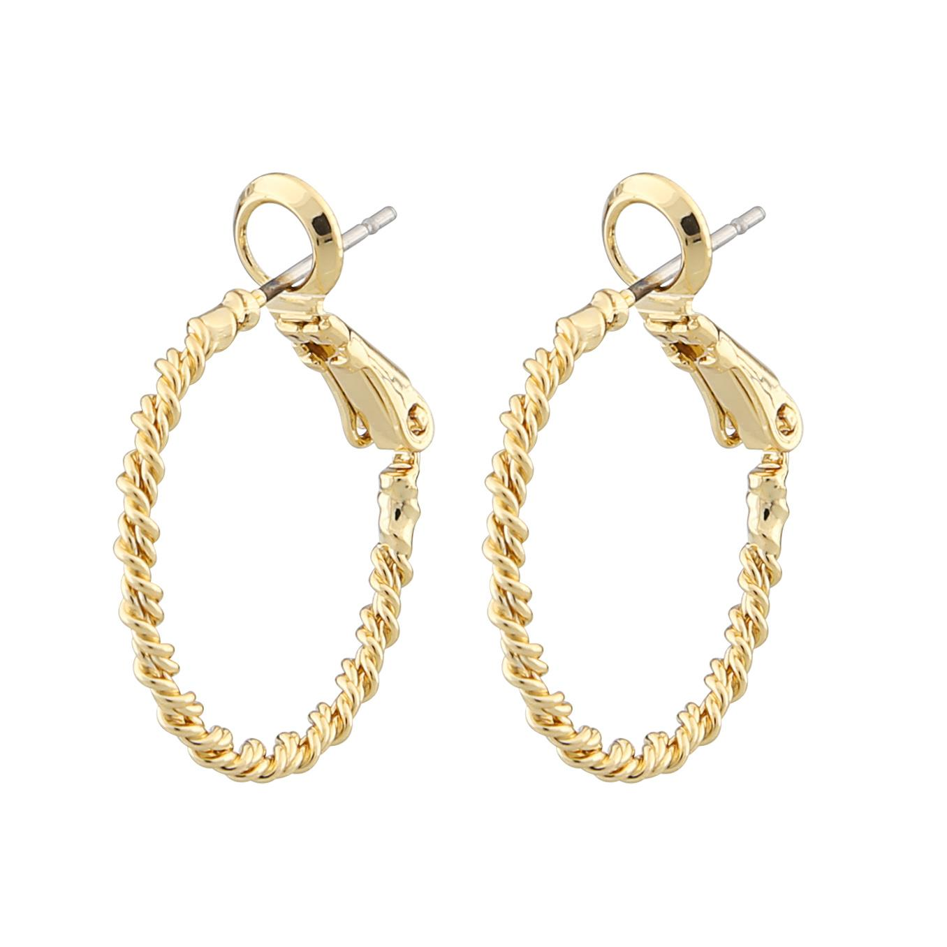 Madeleine Ring Earring gold