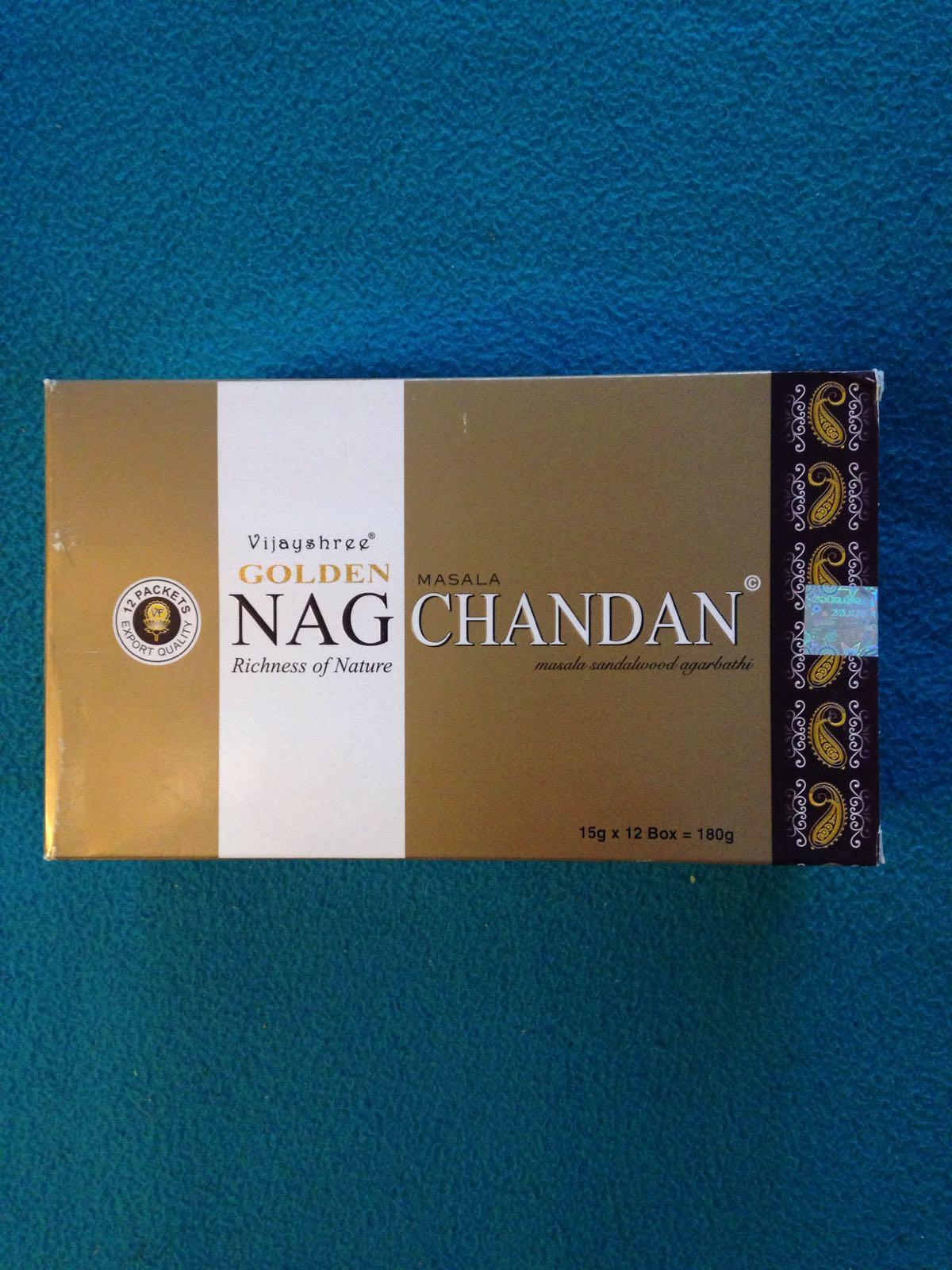Indisk røkelse - NagChandan - sandalwood