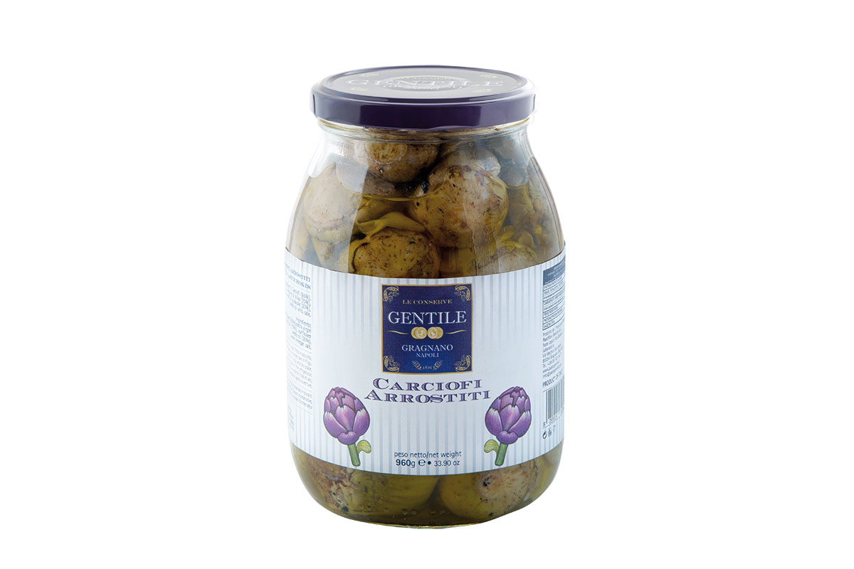 Grilled Artichokes in e.v.o. oil - 960g