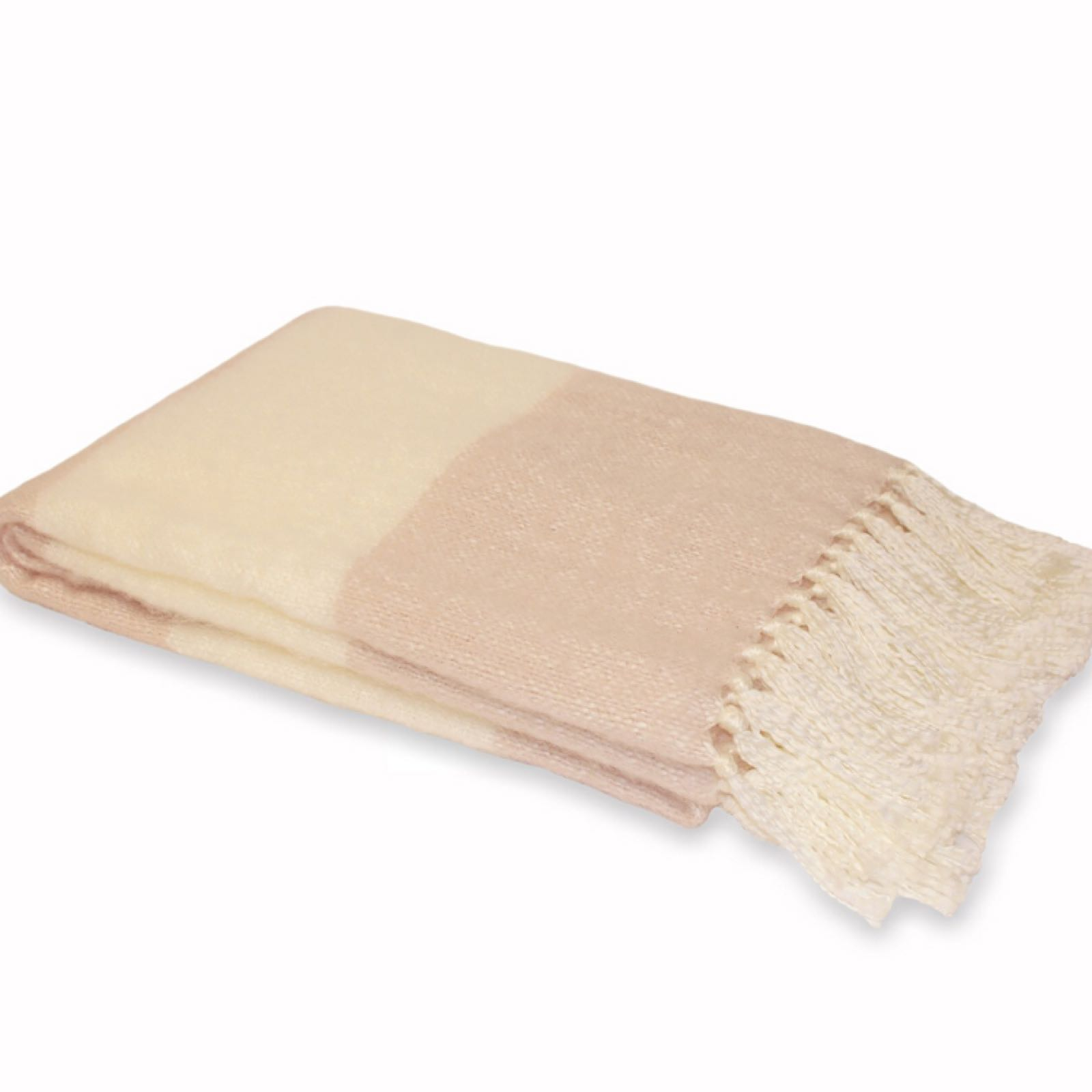 Cotswold throw baby pink 127 x 180 cm