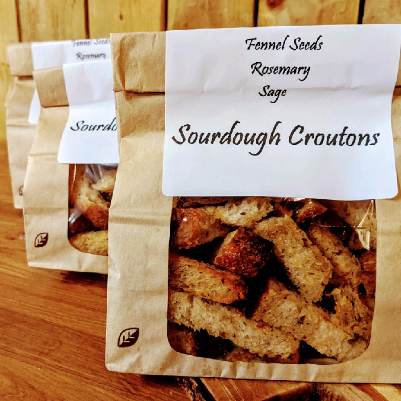 Sourdough Croutons
