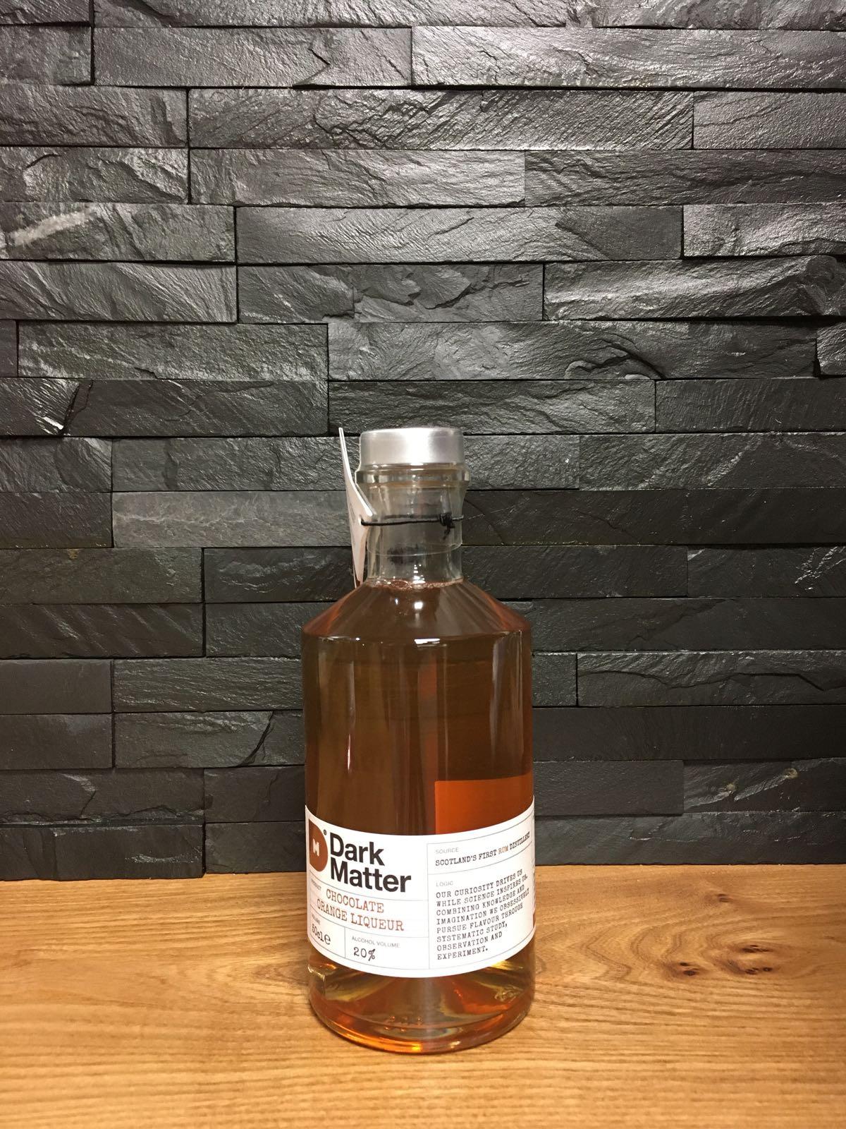 Dark Matter Orange & Chocolate Rum Liqueur 50cl