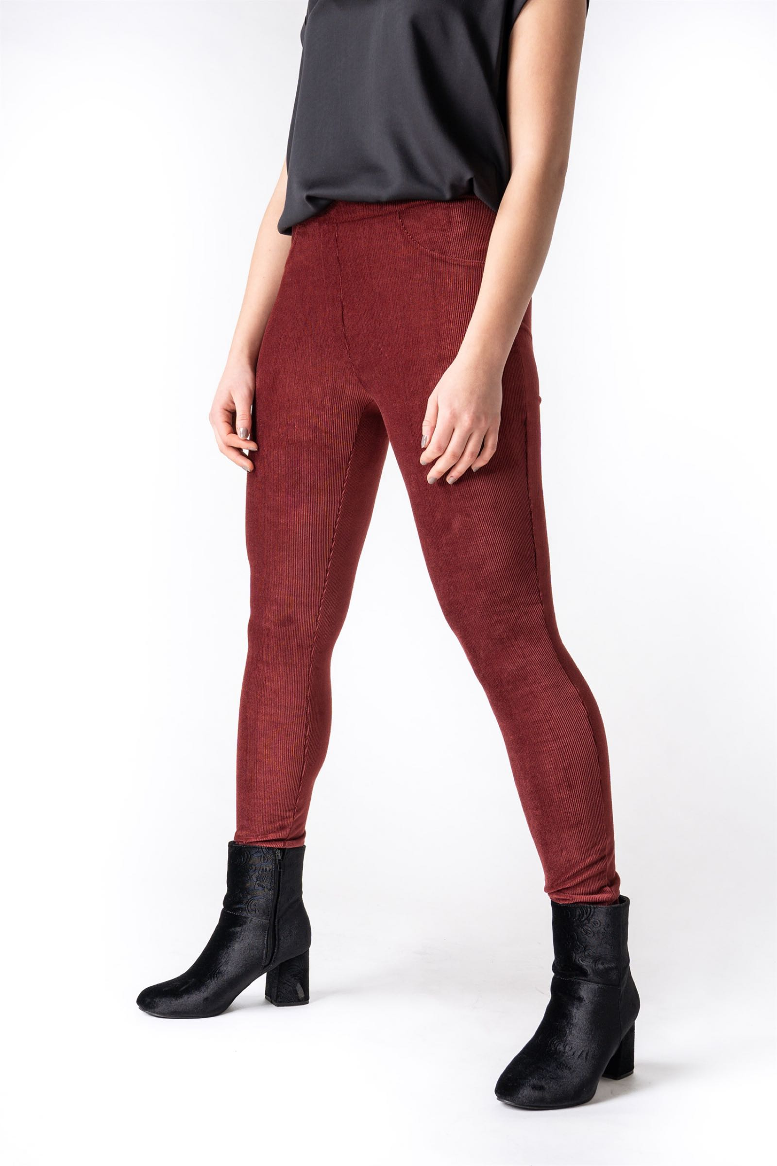 Unity jeggings. Bordeaux