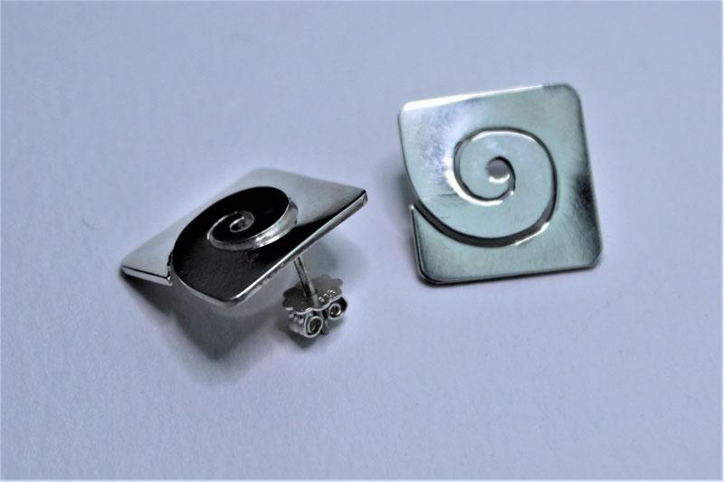 KEI055, Earstuds Sterling Silver