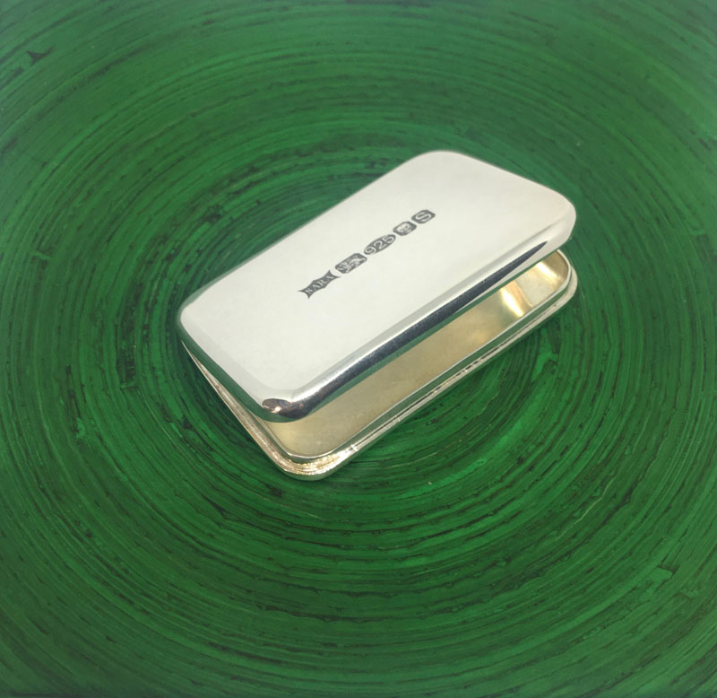 POW002, Rectangle Pill Box