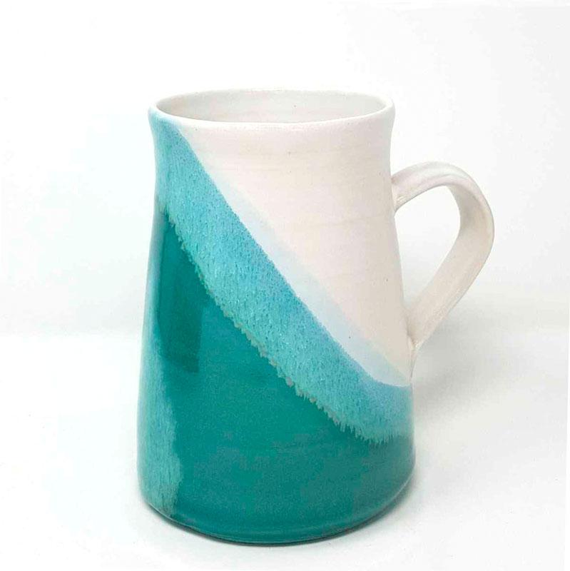 BRI092, Turquoise Mega Mug
