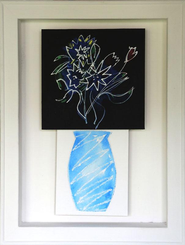 CHA185, Flowers + Vase no.2