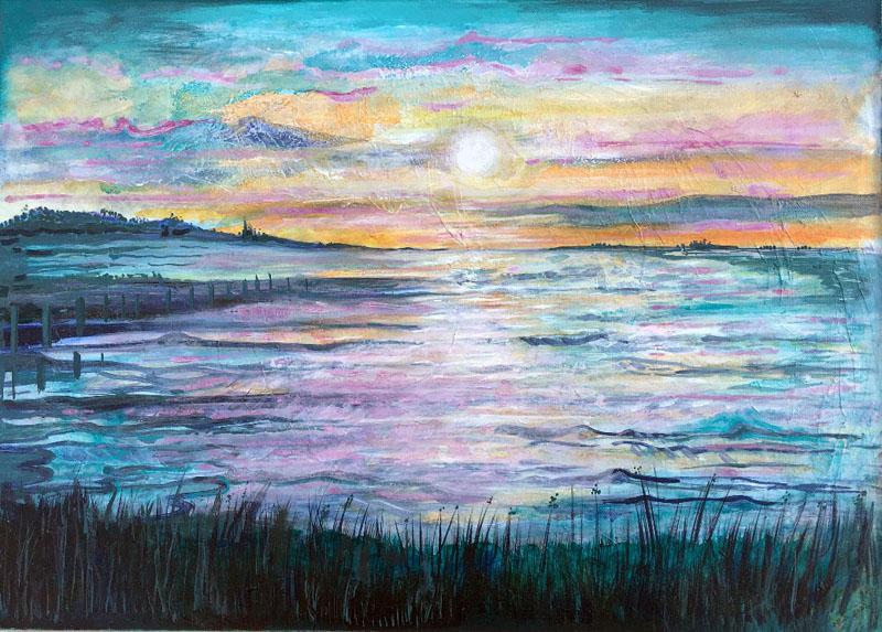 MCD179, Evening Glow at Seasalter
